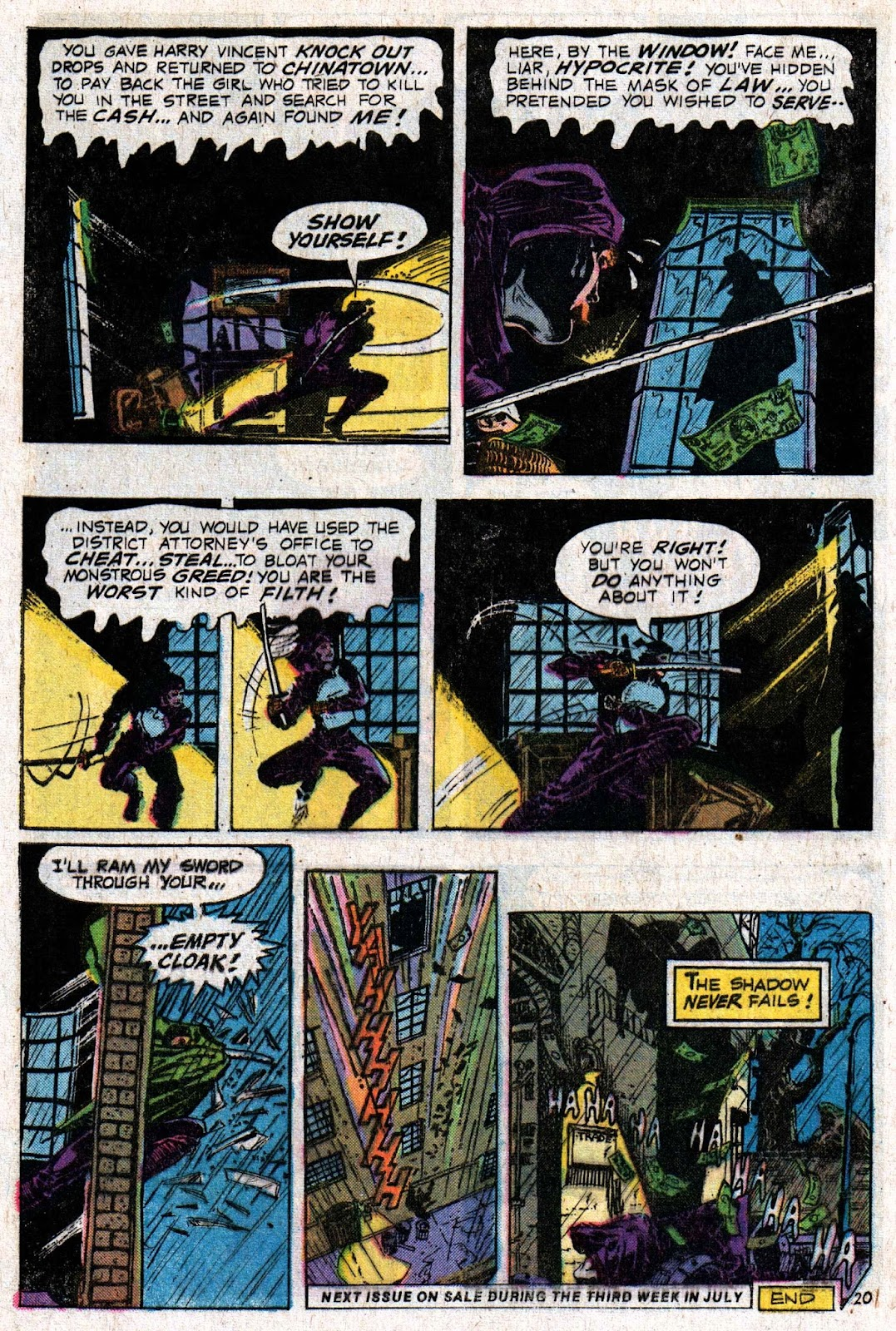 The Shadow (1973) issue 6 - Page 32