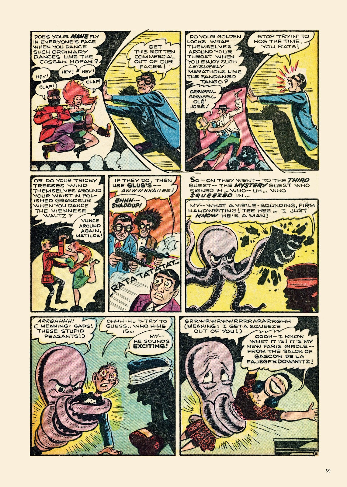 Read online Sincerest Form of Parody: The Best 1950s MAD-Inspired Satirical Comics comic -  Issue # TPB (Part 1) - 60
