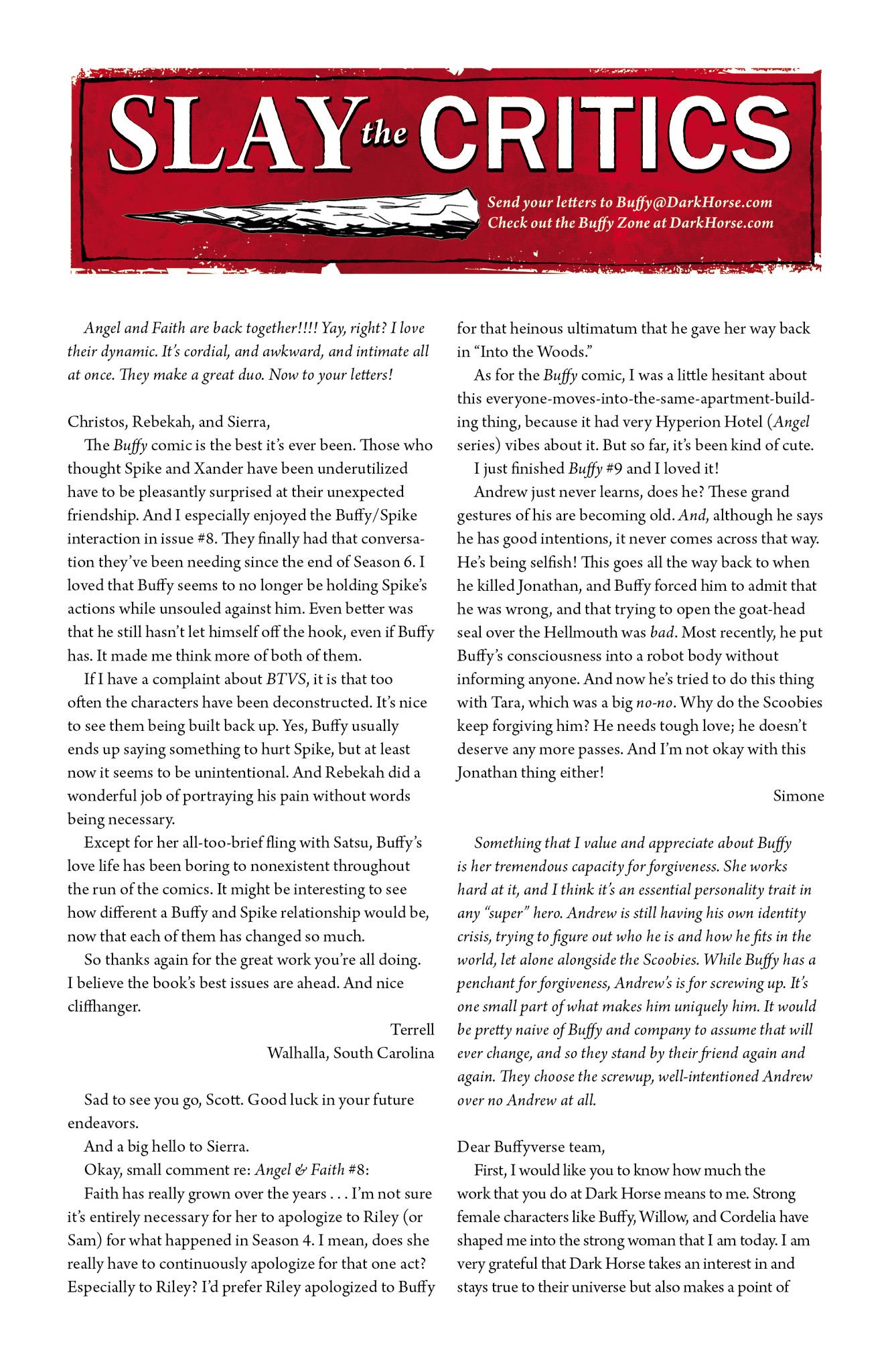 Read online Angel & Faith Season 10 comic -  Issue #11 - 25