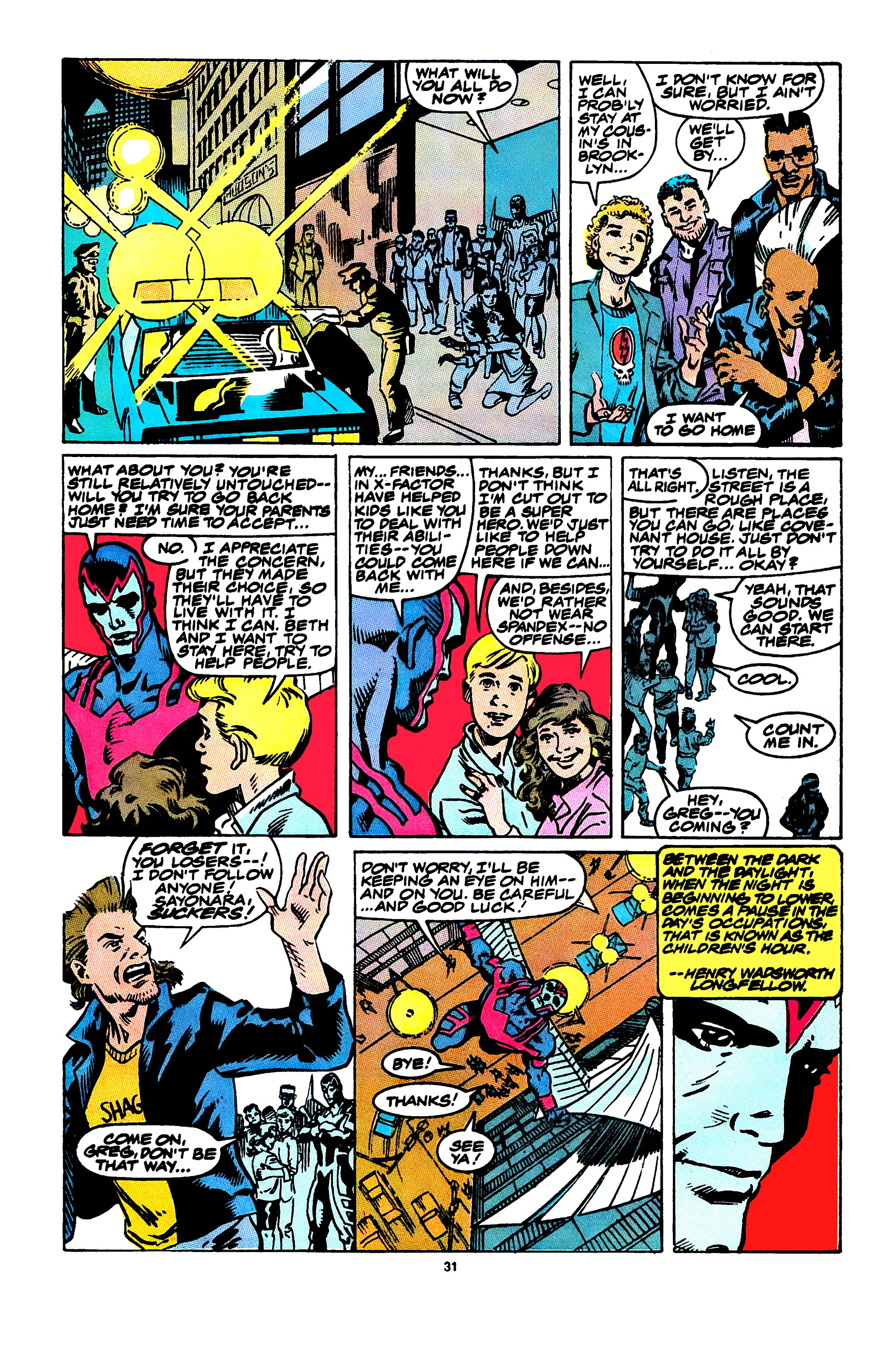 Read online X-Factor (1986) comic -  Issue #47 - 25
