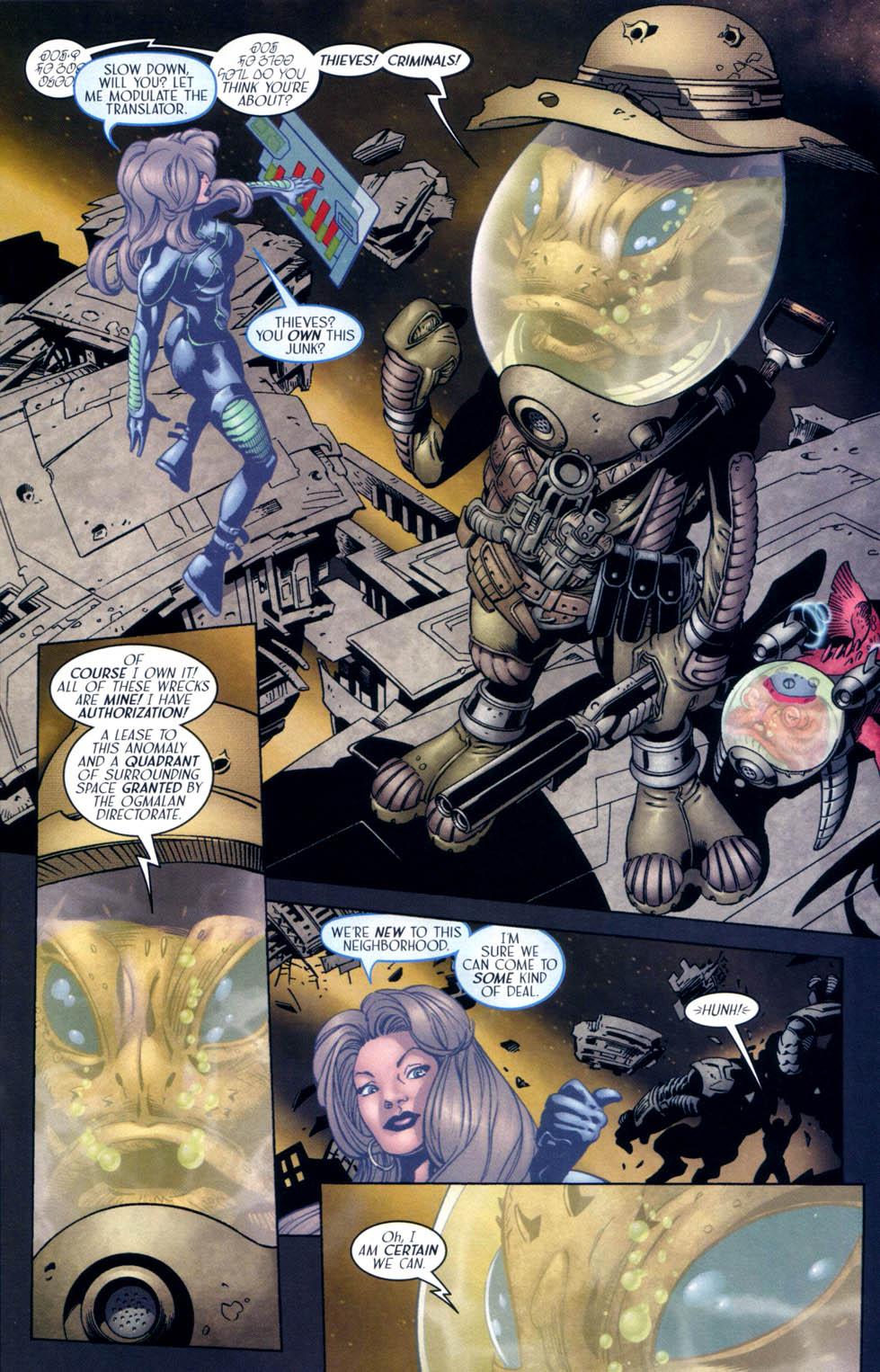 Read online Sigil (2000) comic -  Issue #33 - 17