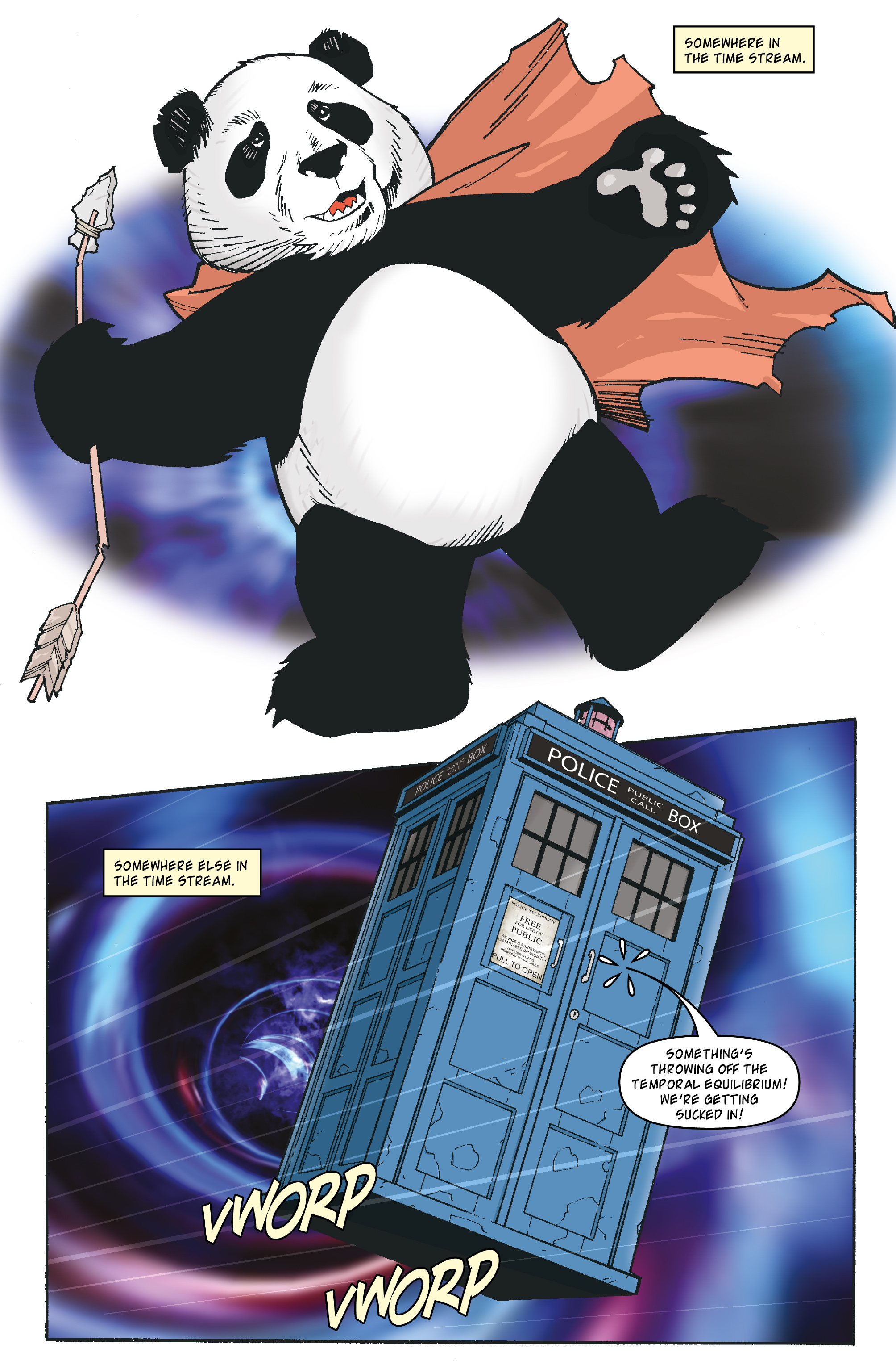 Read online Doctor Who: The Tenth Doctor Archives comic -  Issue #35 - 3