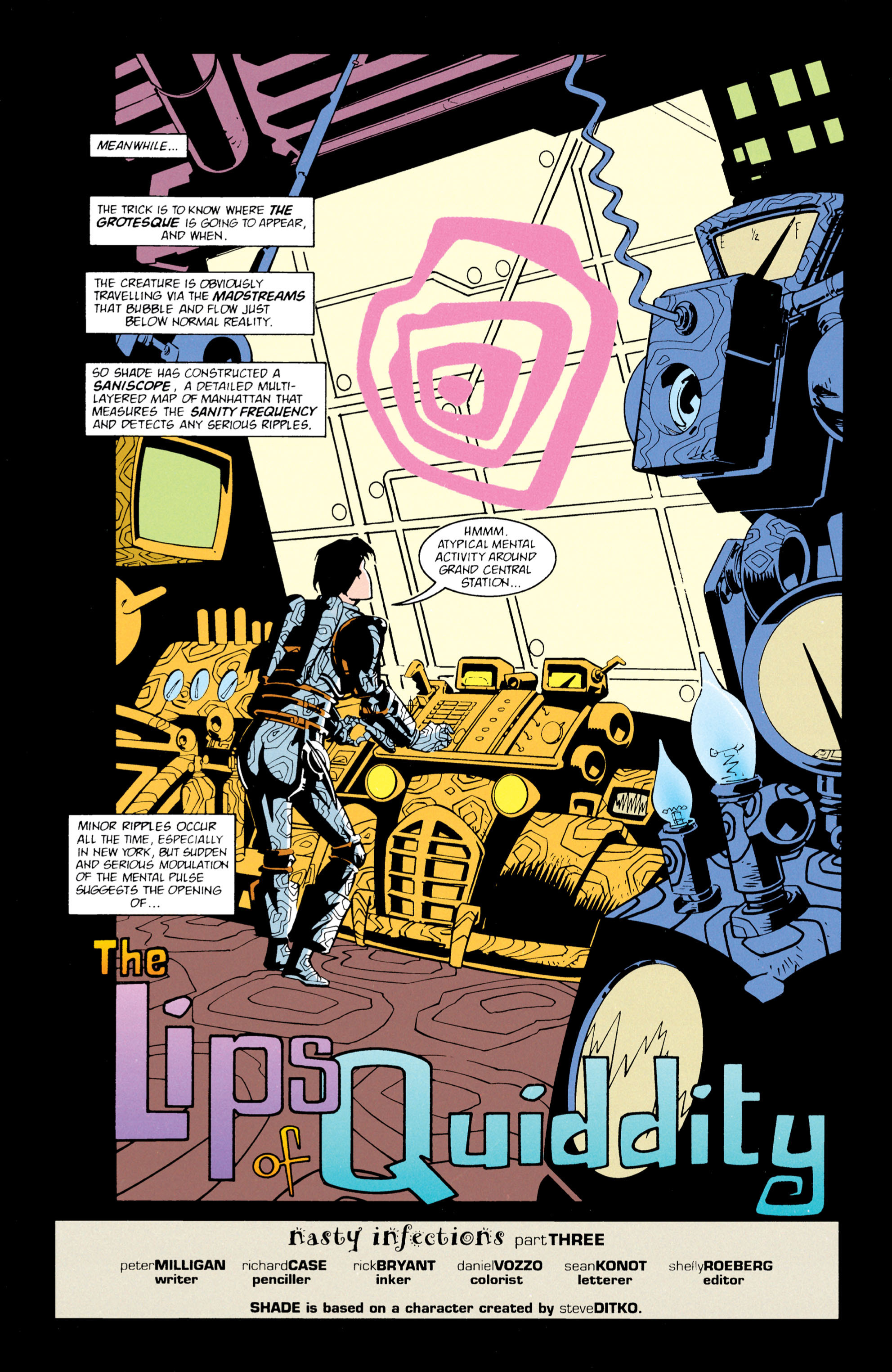 Read online Shade, the Changing Man comic -  Issue #61 - 3