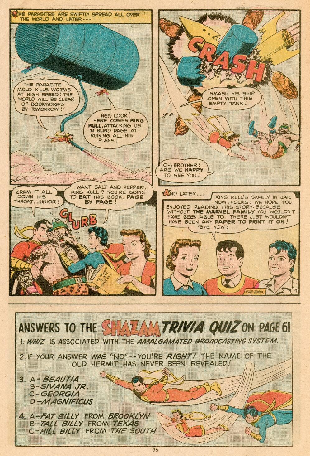 Read online Shazam! (1973) comic -  Issue #14 - 84