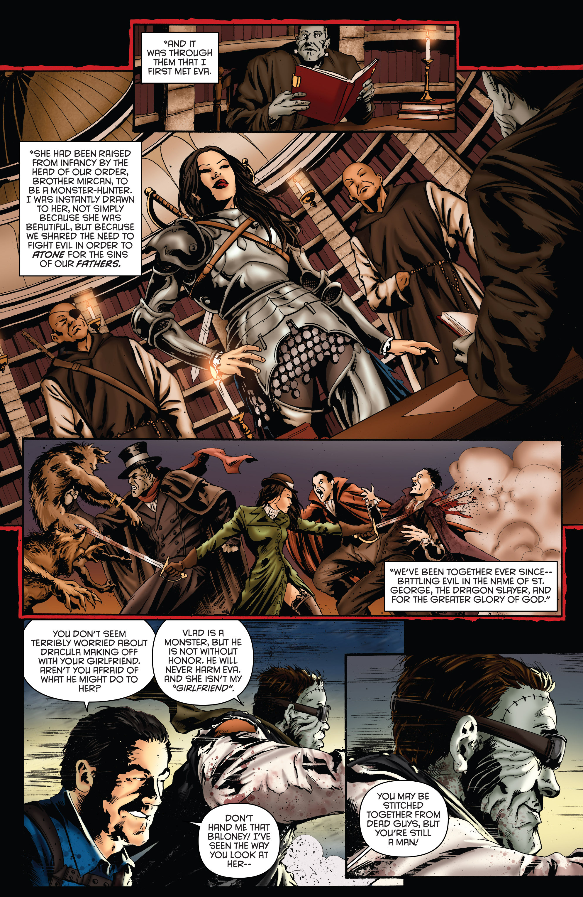 Read online Army of Darkness: Furious Road comic -  Issue #5 - 14