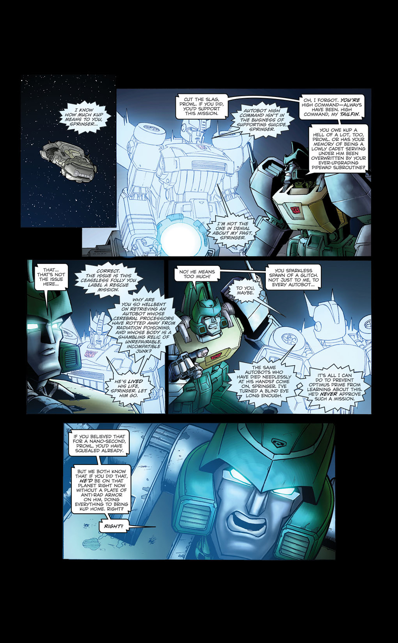 Read online Transformers Spotlight: Kup comic -  Issue # Full - 21