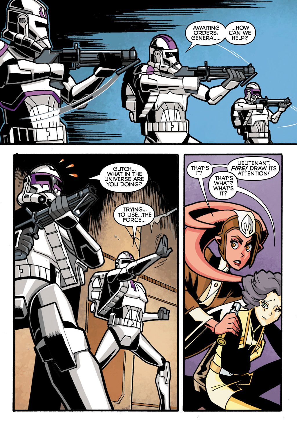 Read online Star Wars: The Clone Wars - Defenders of the Lost Temple comic -  Issue # Full - 21