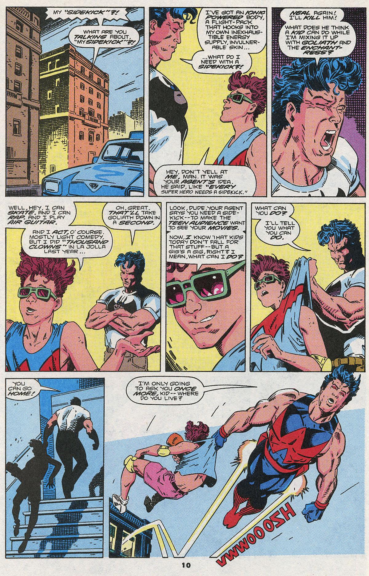 Read online Wonder Man (1991) comic -  Issue #3 - 9