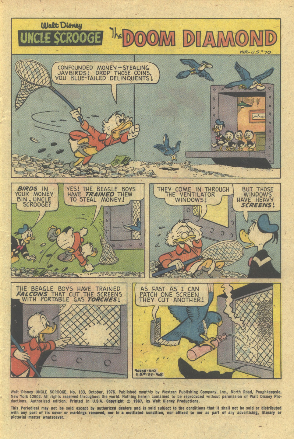 Read online Uncle Scrooge (1953) comic -  Issue #133 - 3