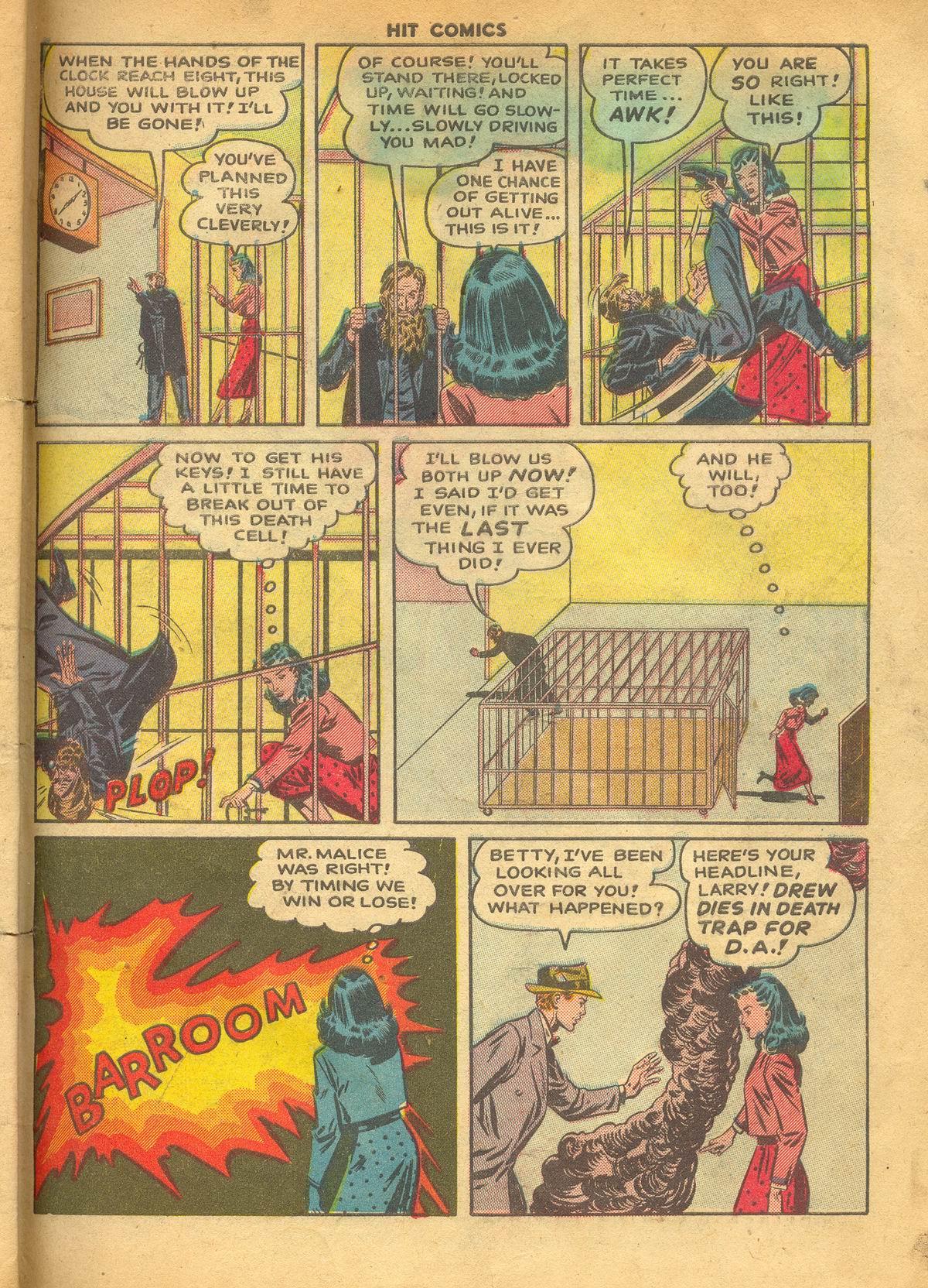 Read online Hit Comics comic -  Issue #60 - 33