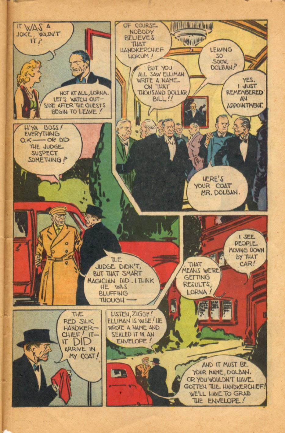 Read online Super-Magician Comics comic -  Issue #52 - 42
