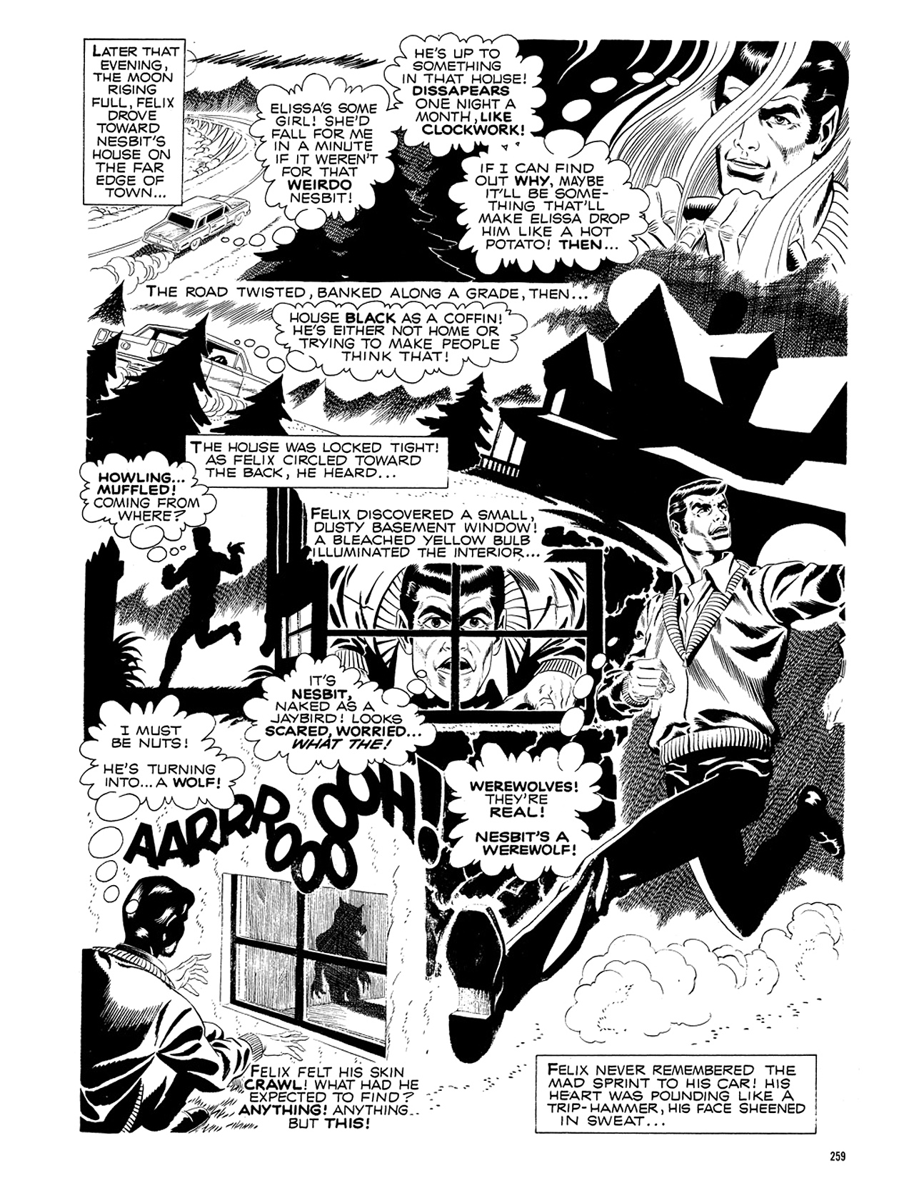 Read online Eerie Archives comic -  Issue # TPB 5 - 260