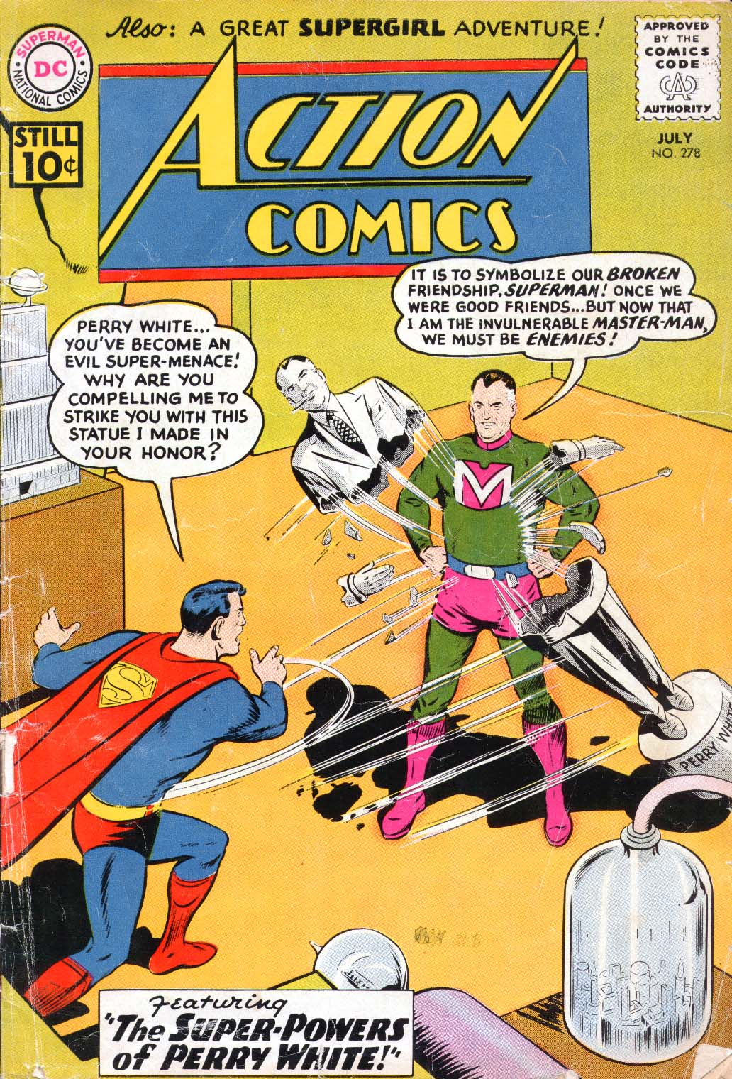 Read online Action Comics (1938) comic -  Issue #278 - 1