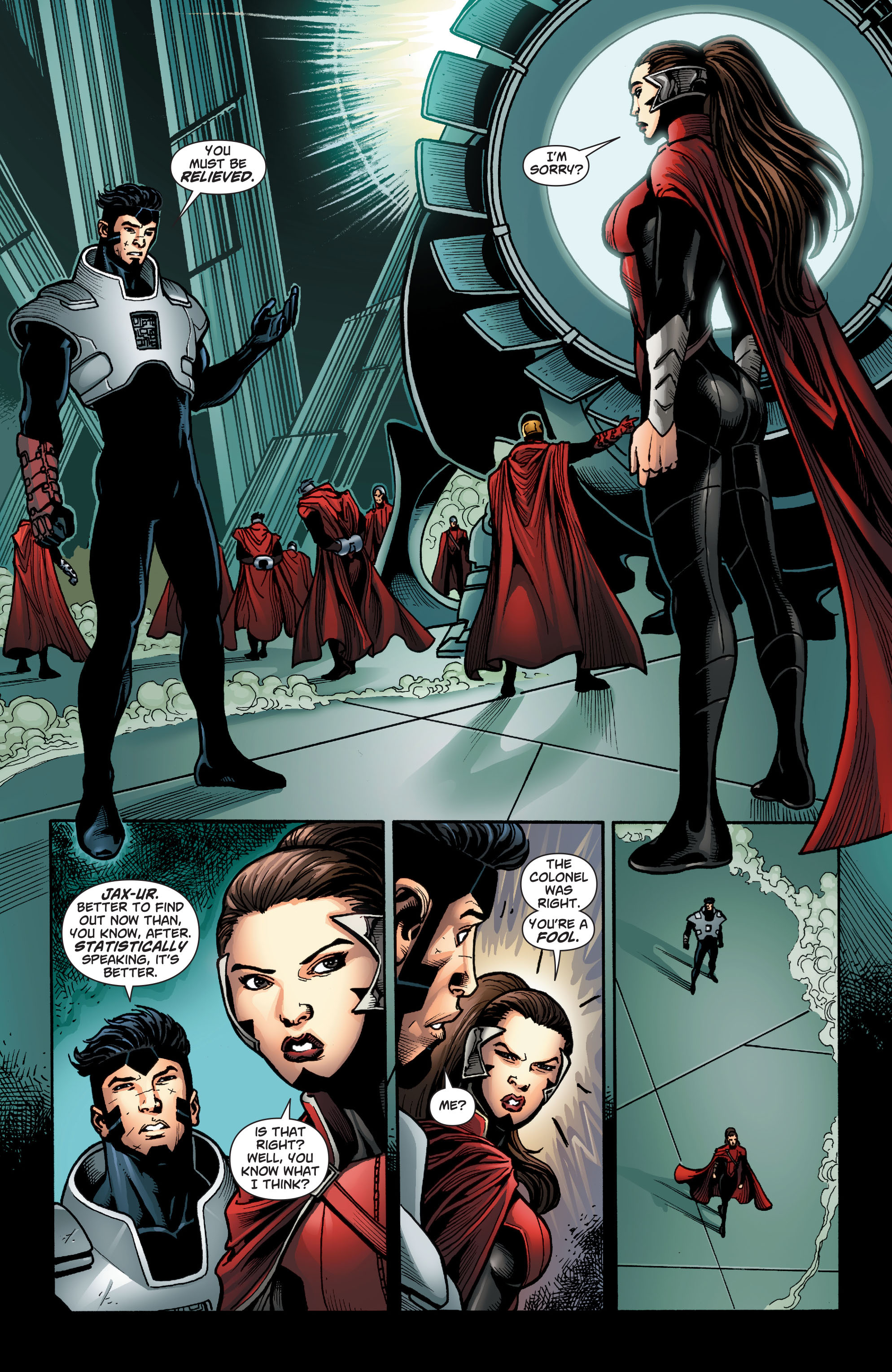 Read online Action Comics (2011) comic -  Issue #23 - 23