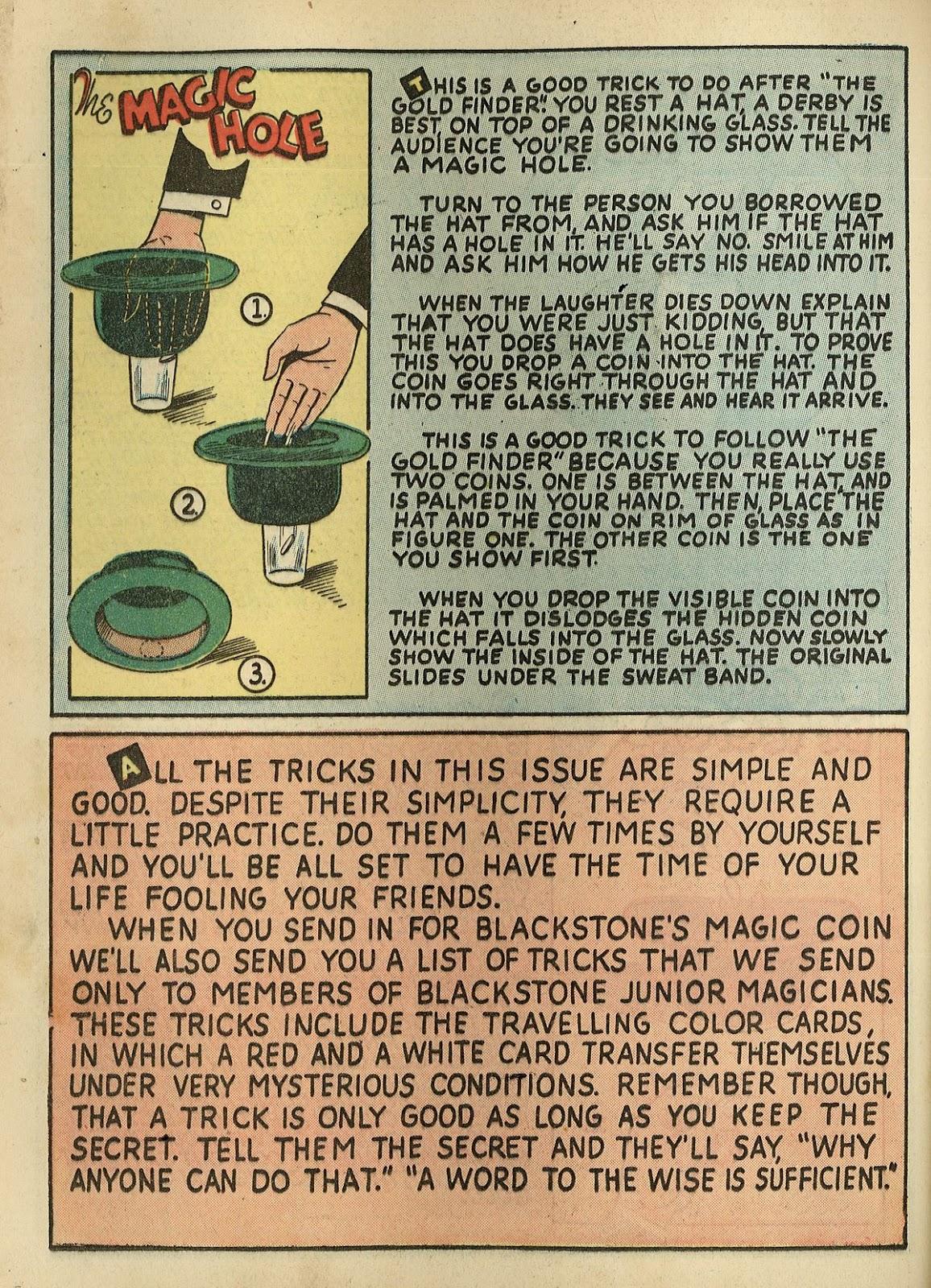 Read online Super-Magician Comics comic -  Issue #1 - 46