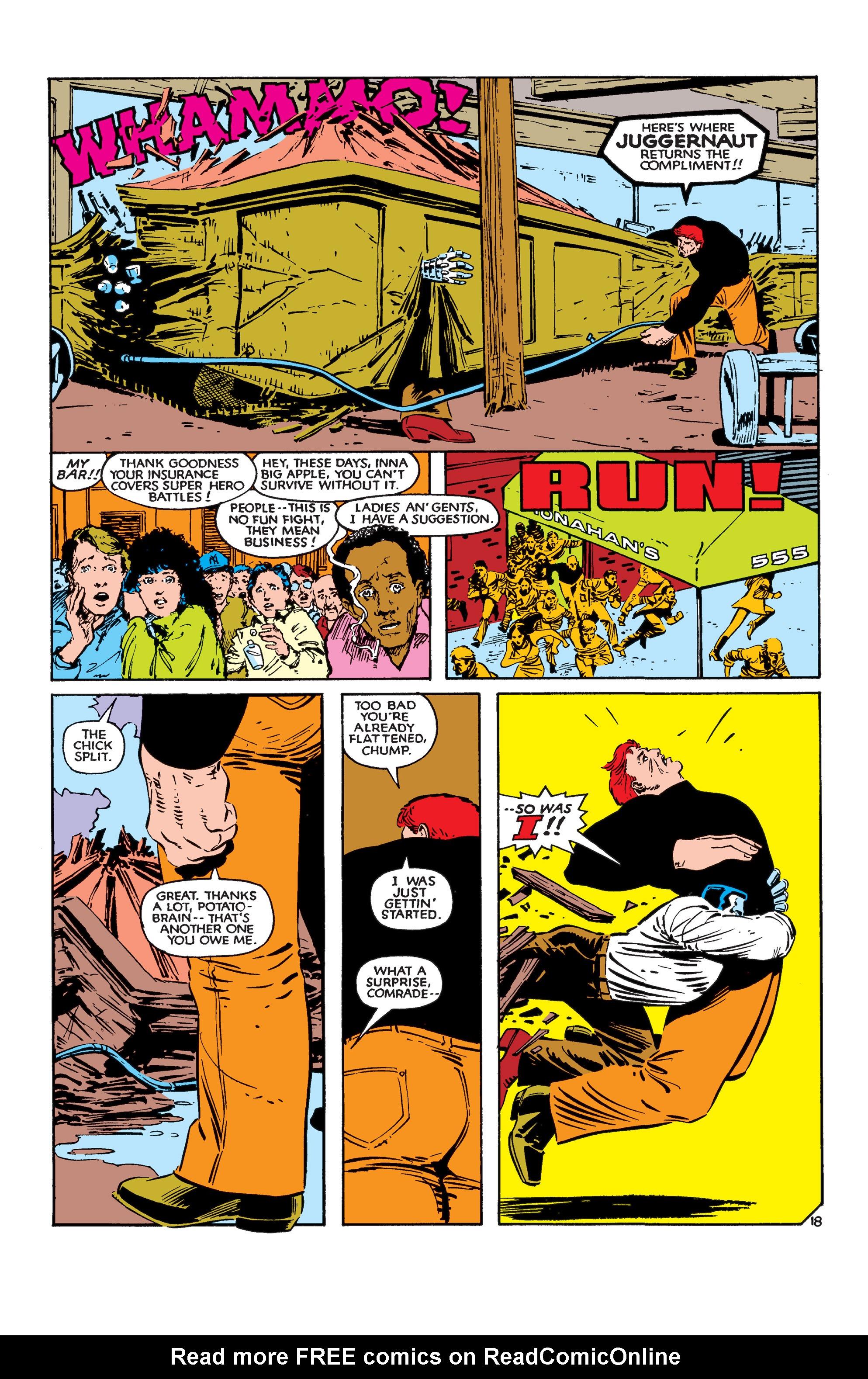 Read online Uncanny X-Men (1963) comic -  Issue #183 - 19