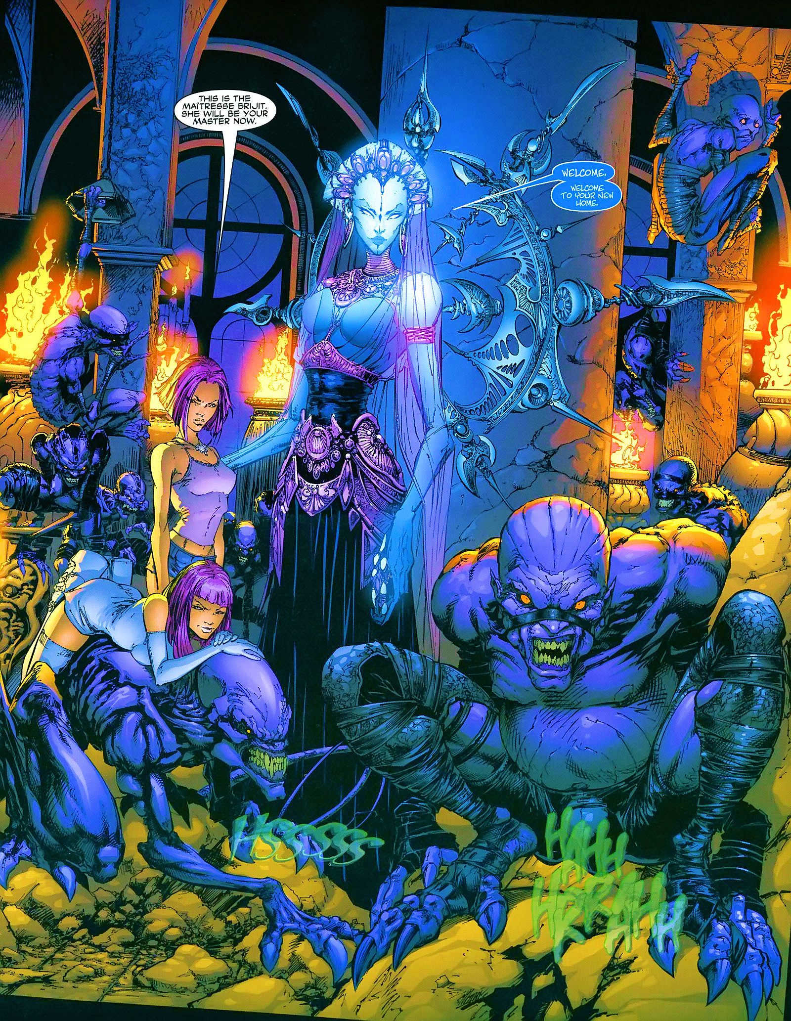 Read online Wraithborn comic -  Issue #4 - 20