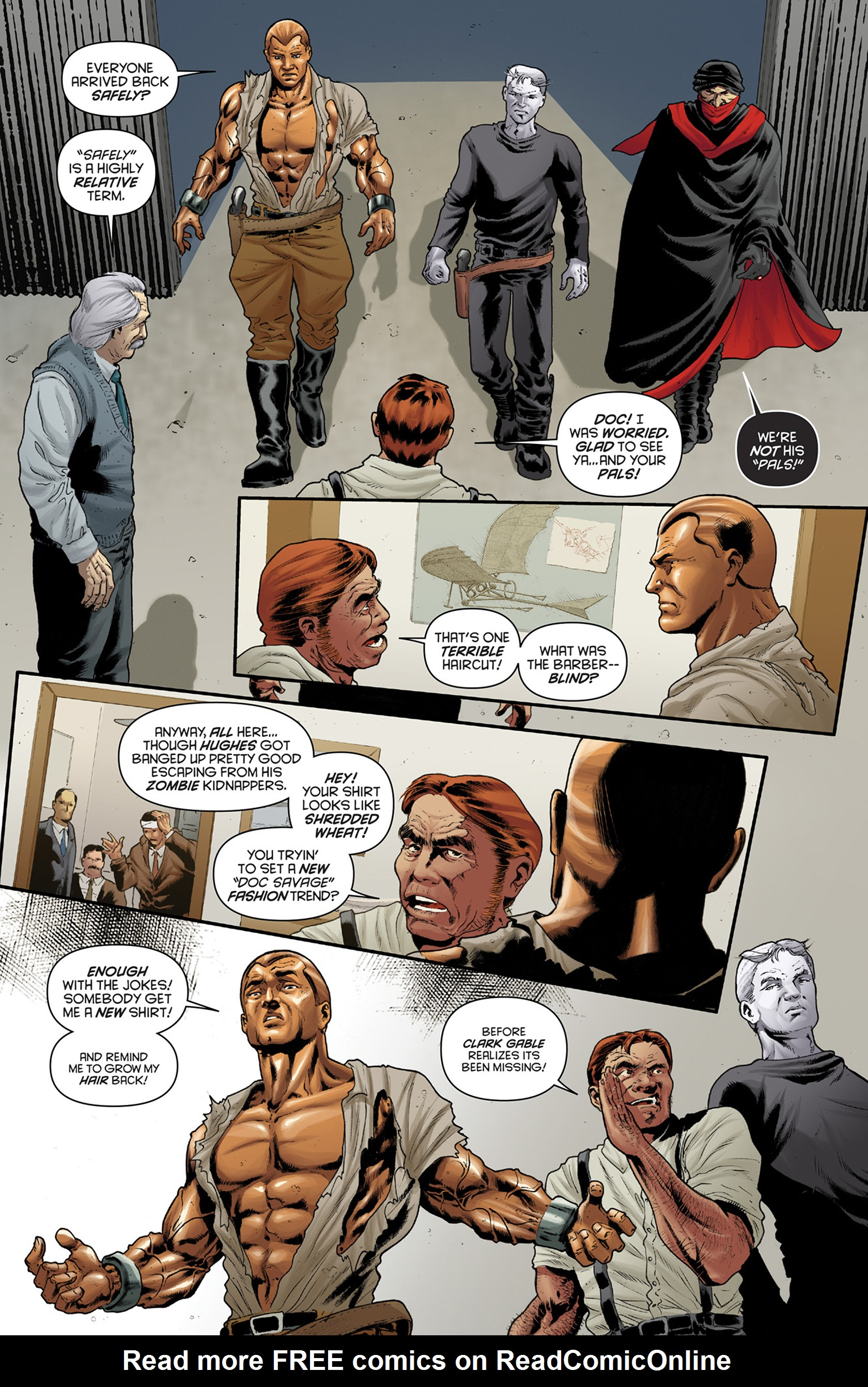 Read online Justice, Inc. comic -  Issue #4 - 18