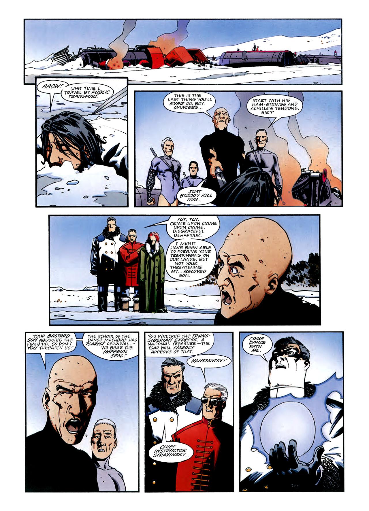 Read online Nikolai Dante comic -  Issue # TPB 3 - 35