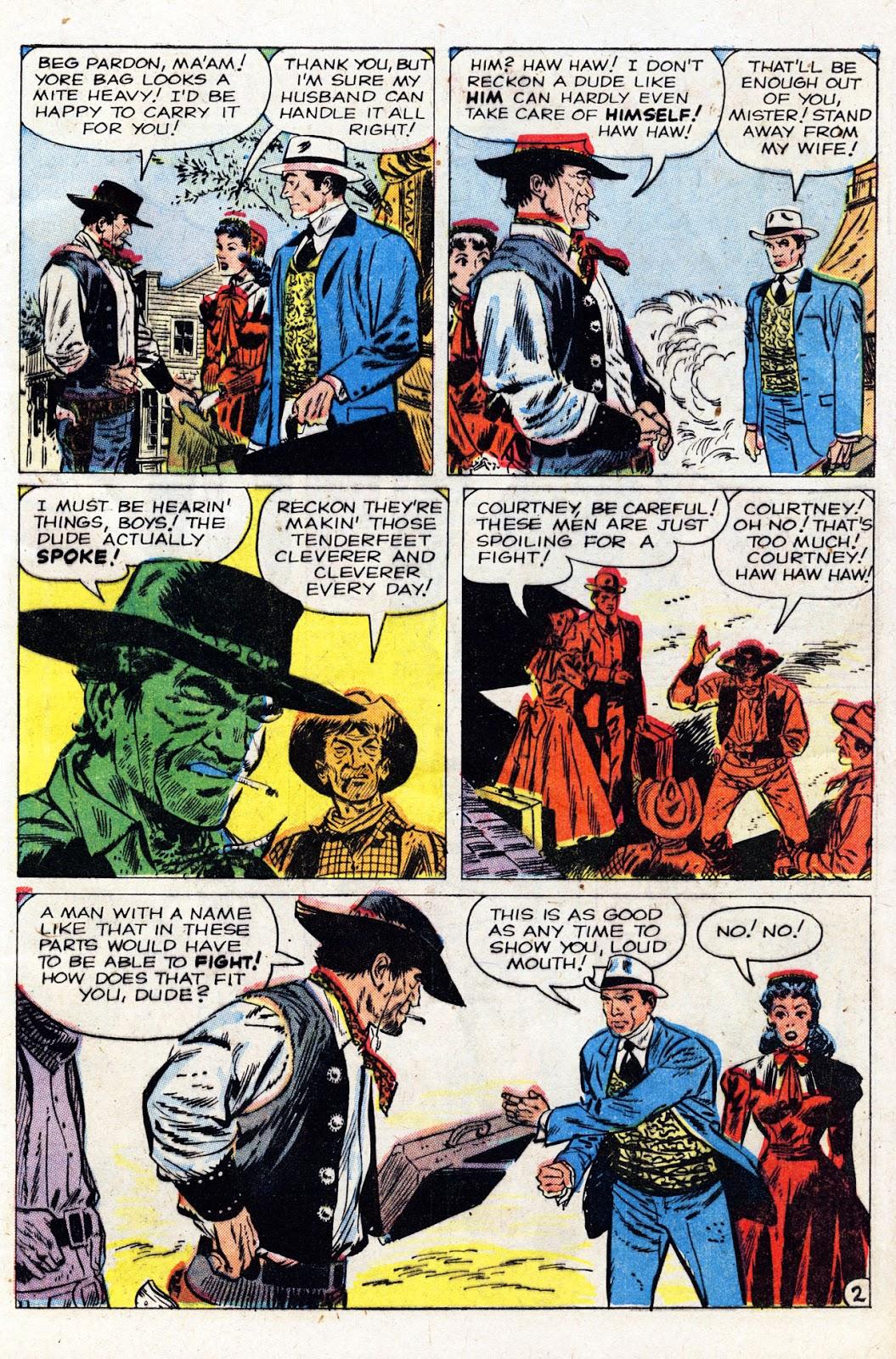 Gunsmoke Western issue 61 - Page 29