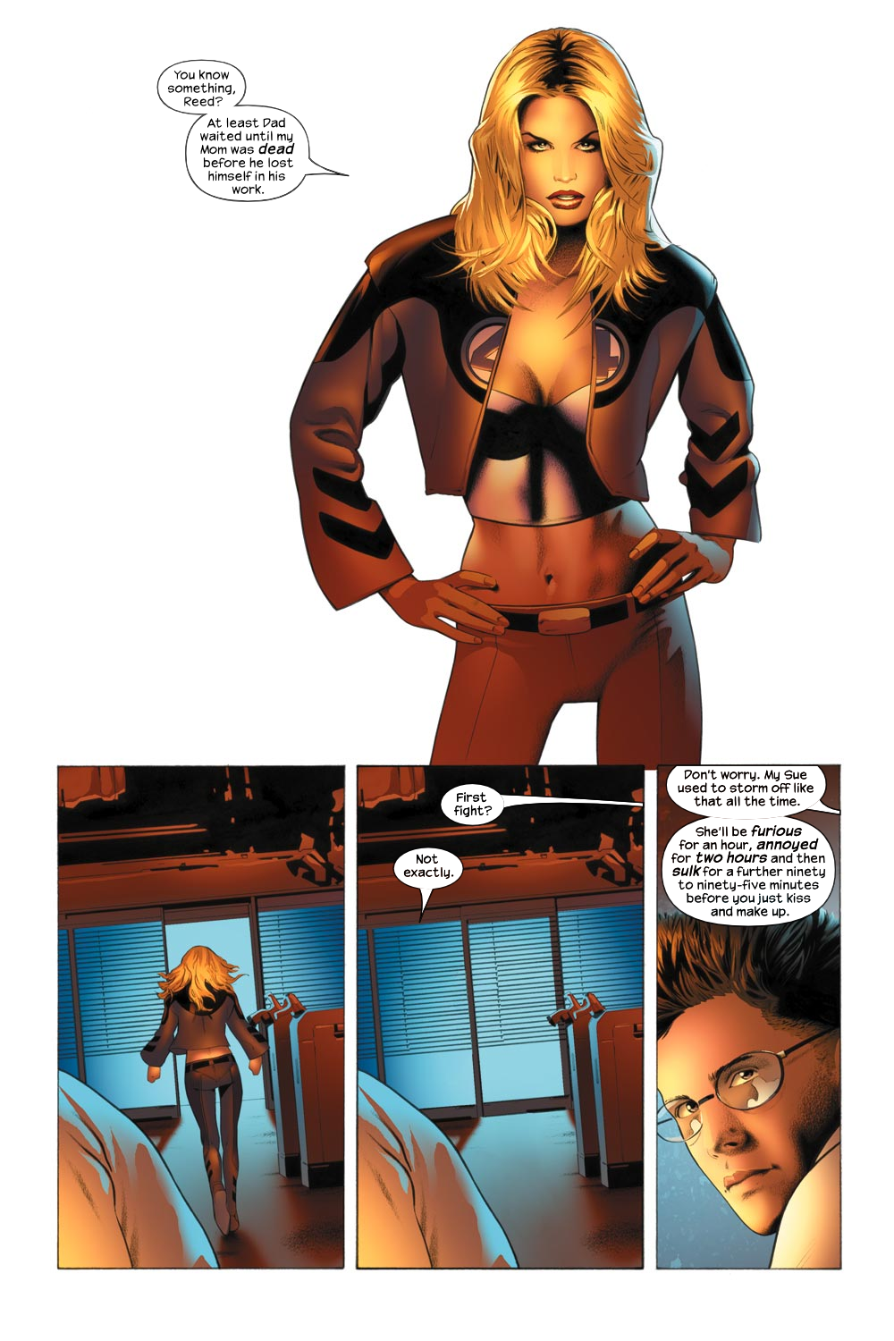 Read online Ultimate Fantastic Four (2004) comic -  Issue #21 - 16