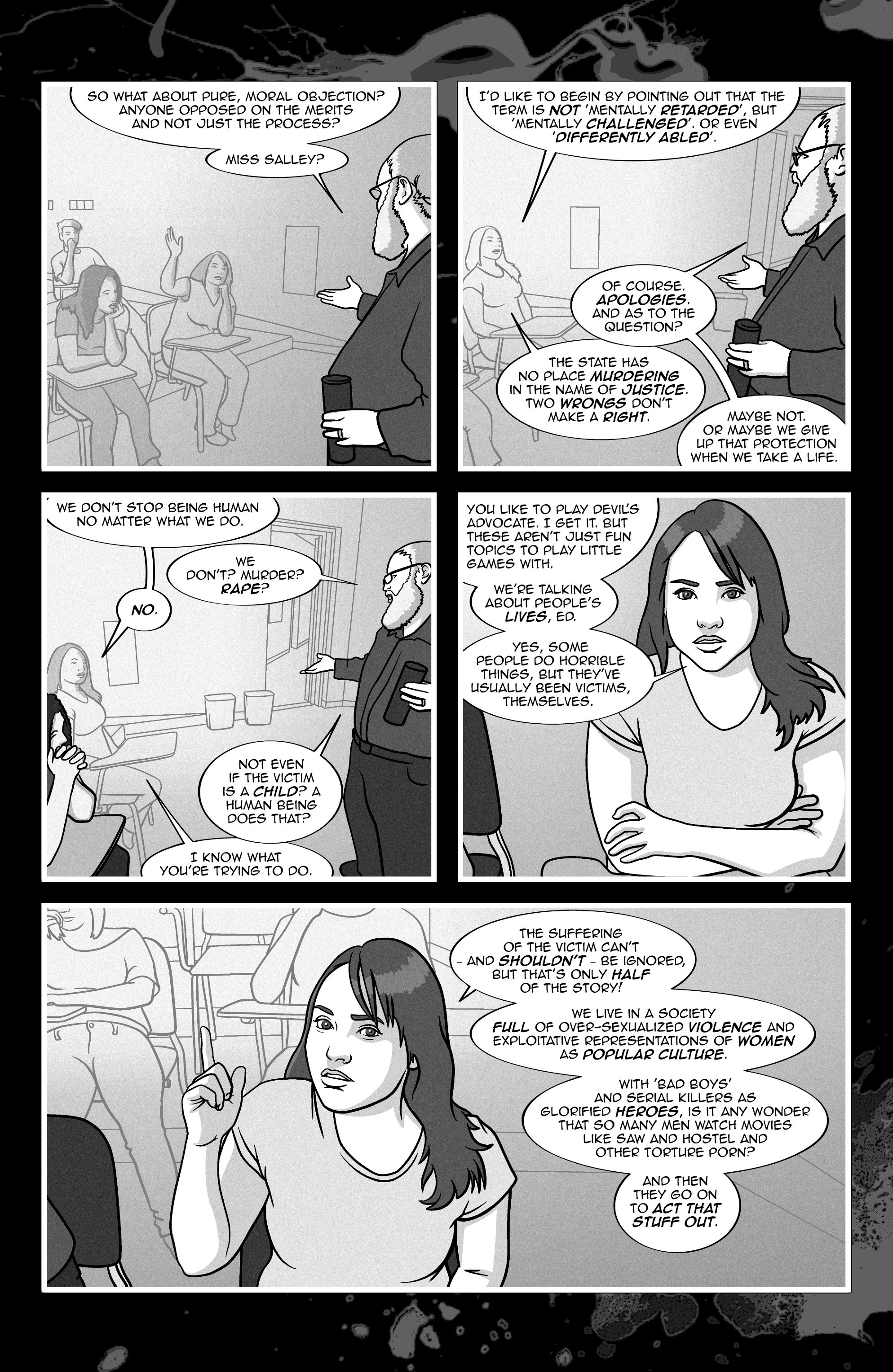 Read online A Voice in the Dark comic -  Issue #4 - 12