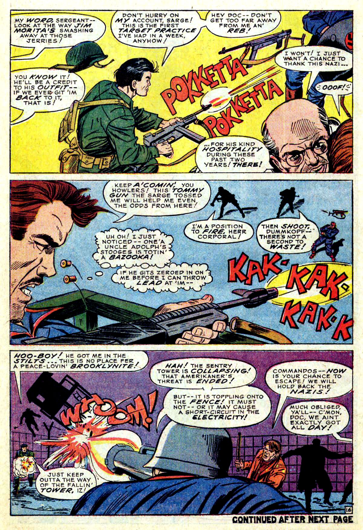 Read online Sgt. Fury comic -  Issue #38 - 22
