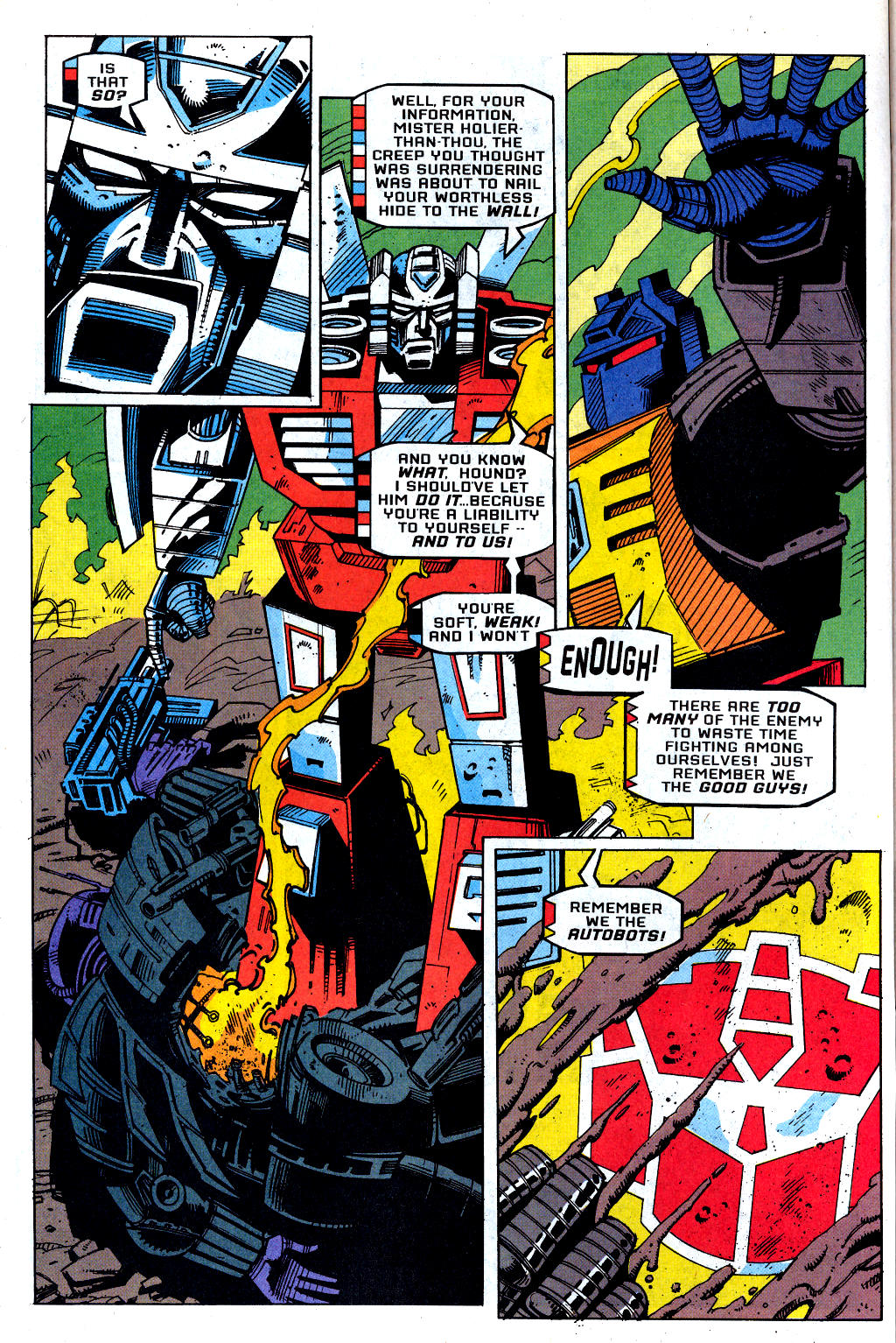 Read online Transformers: Generation 2 comic -  Issue #1 - 12