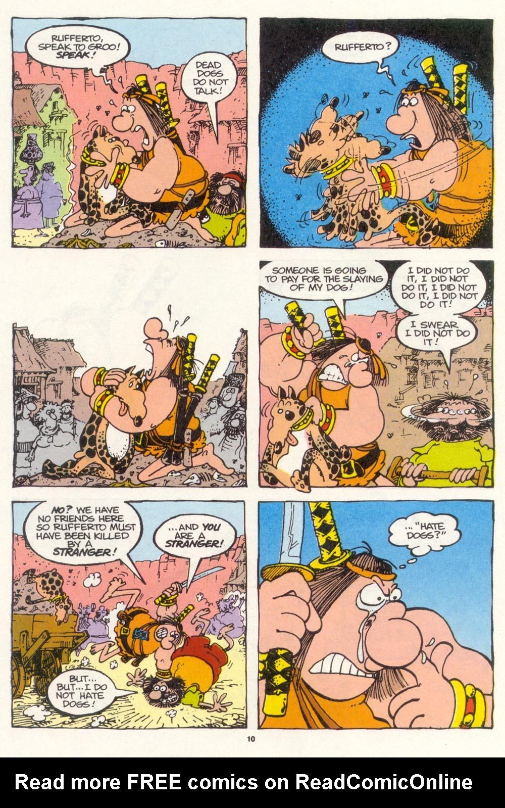 Read online Sergio Aragonés Groo the Wanderer comic -  Issue #112 - 12