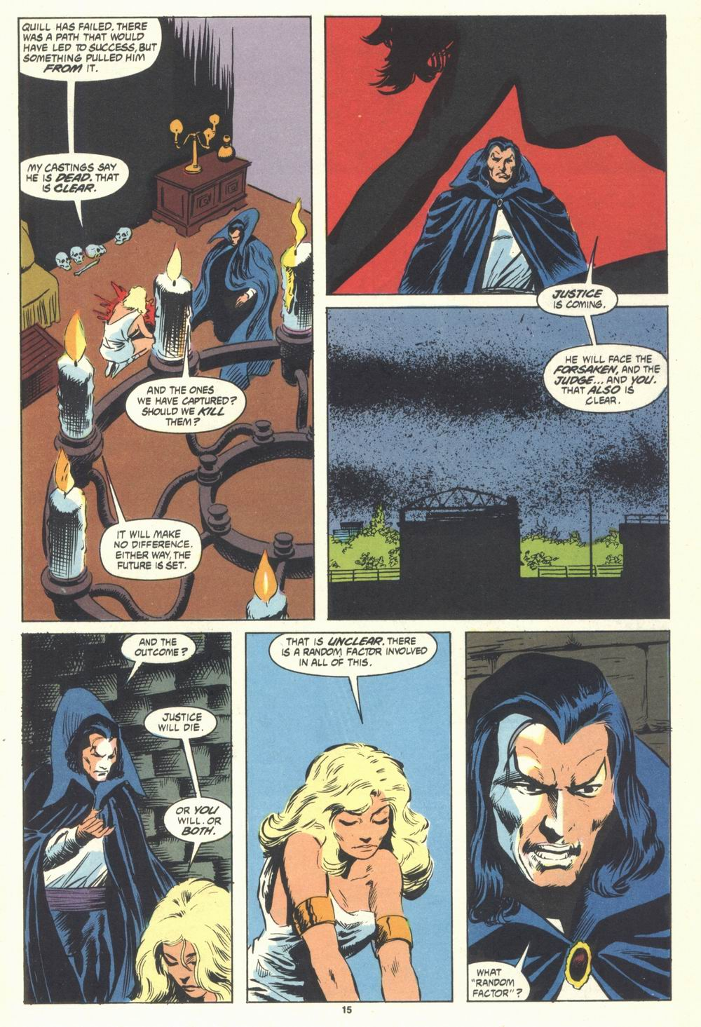 Read online Justice (1986) comic -  Issue #31 - 17