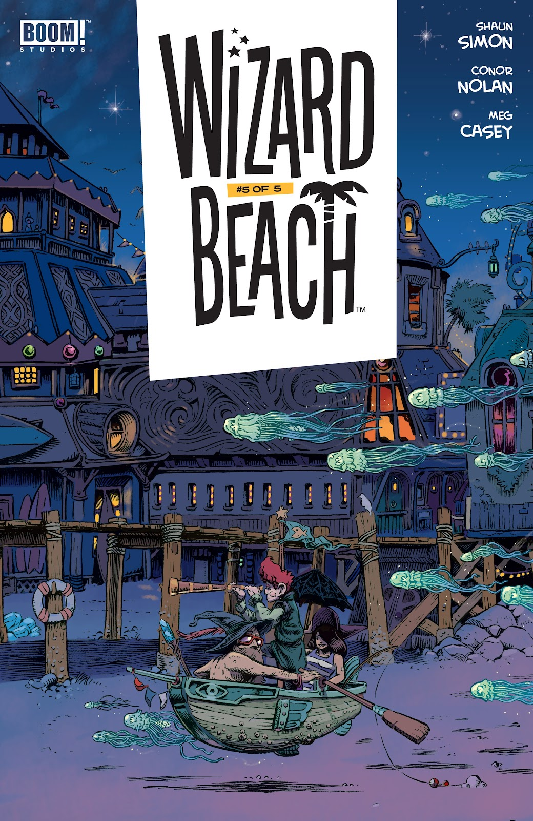 Read online Wizard Beach comic -  Issue #5 - 1