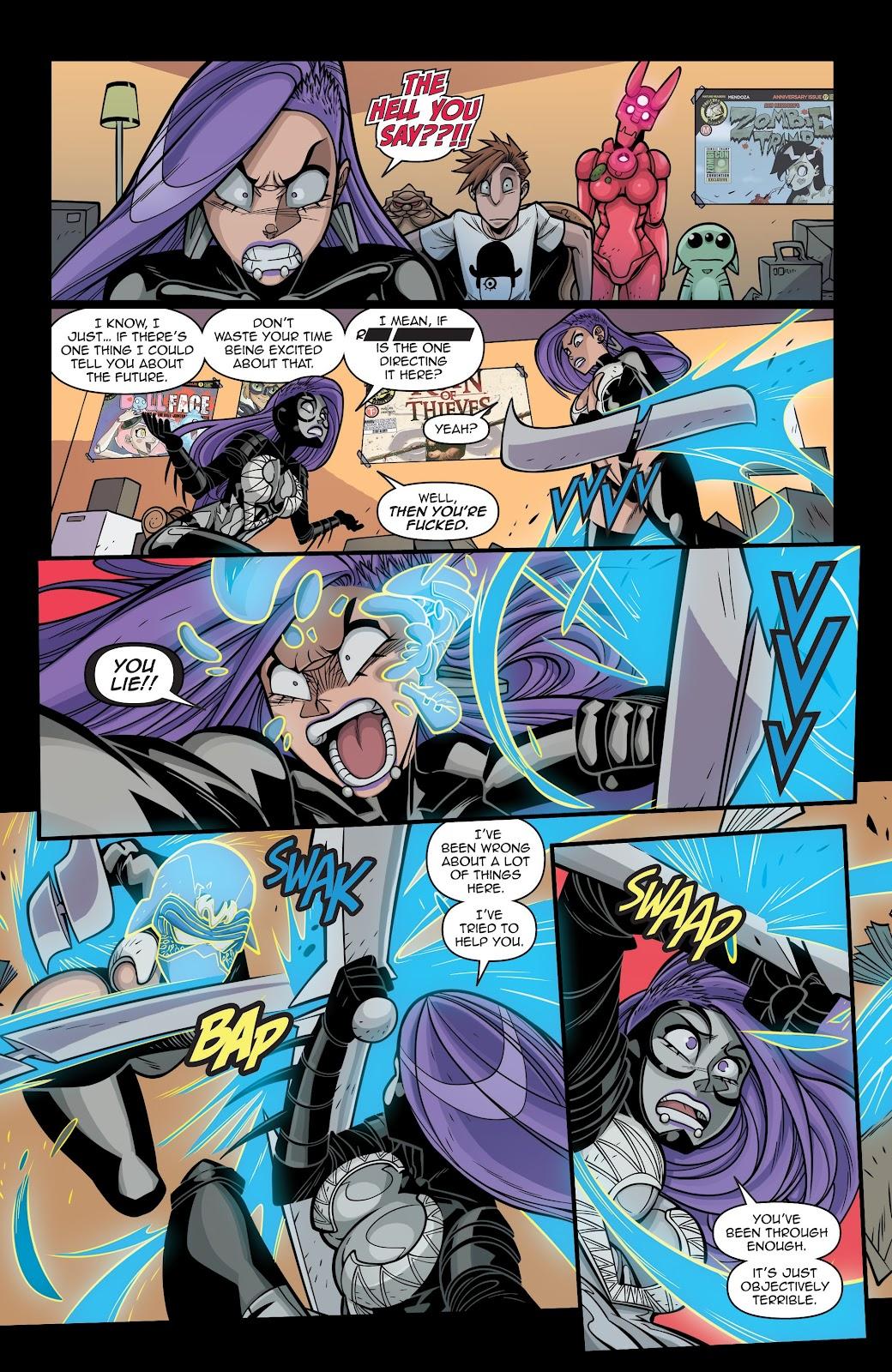 Read online Vampblade Season 3 comic -  Issue #12 - 5