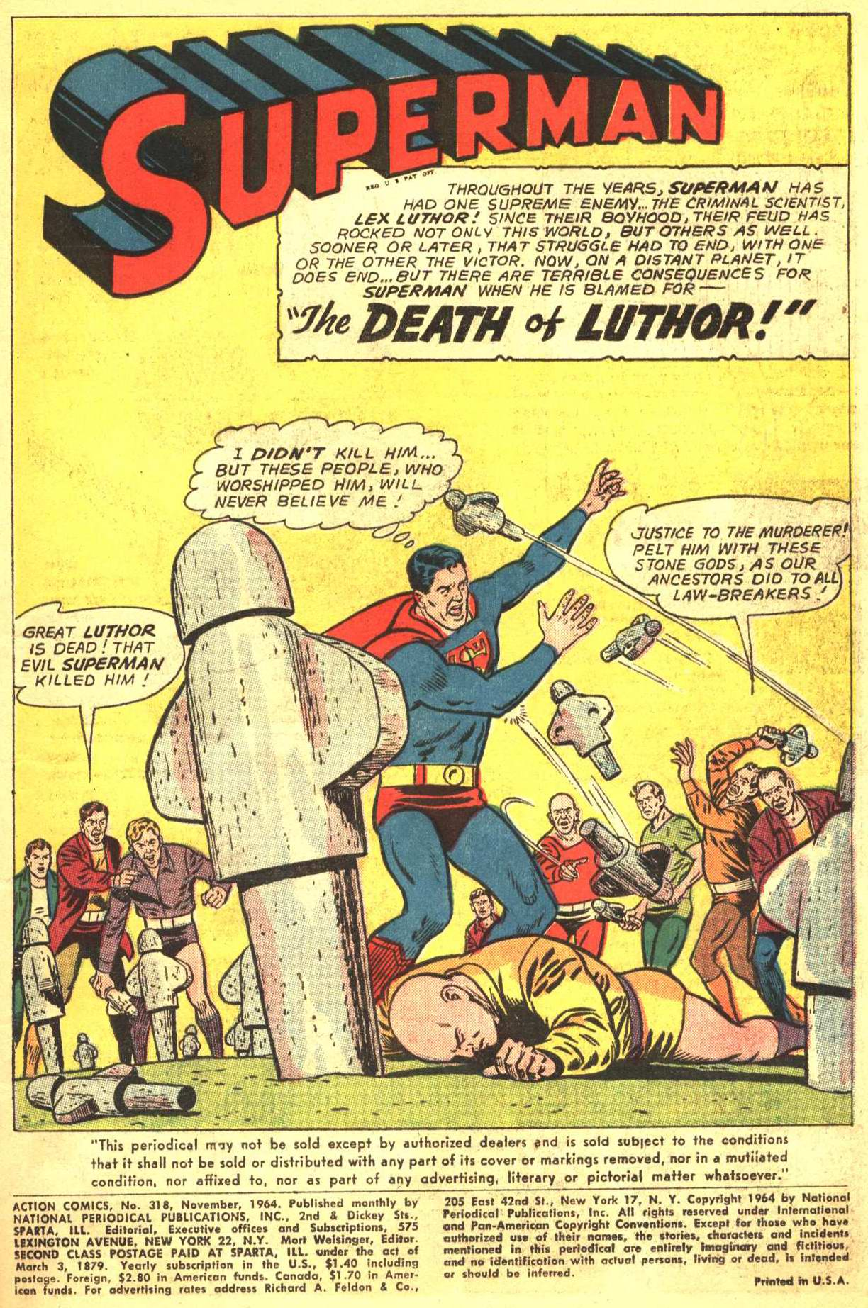 Read online Action Comics (1938) comic -  Issue #318 - 2