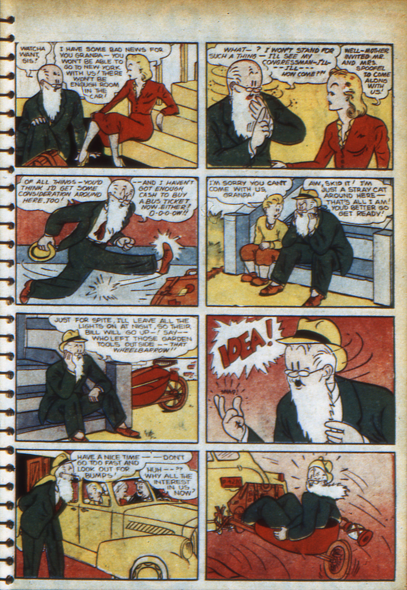 Read online Adventure Comics (1938) comic -  Issue #48 - 44