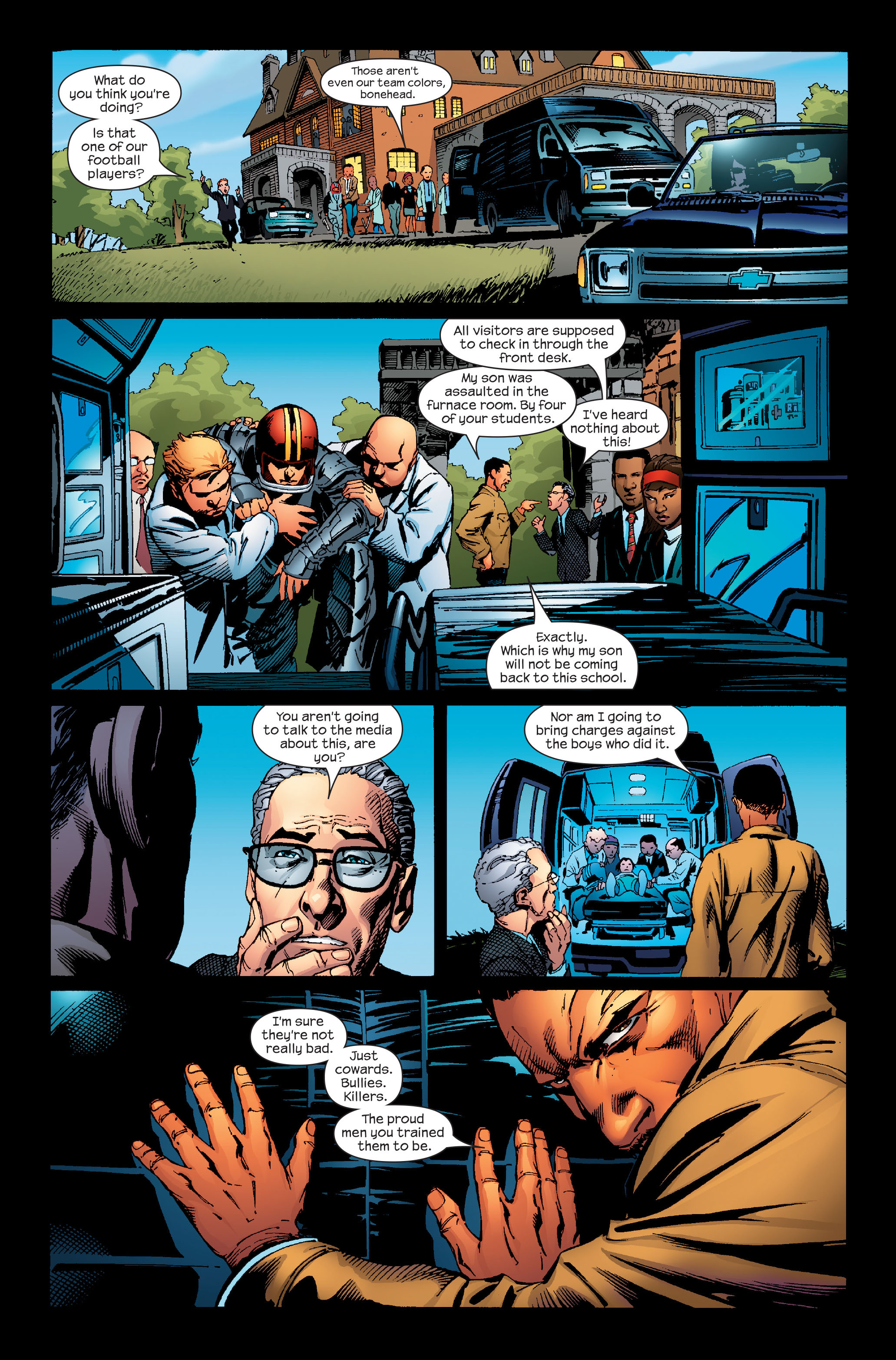 Read online Ultimate Iron Man (2005) comic -  Issue #4 - 13