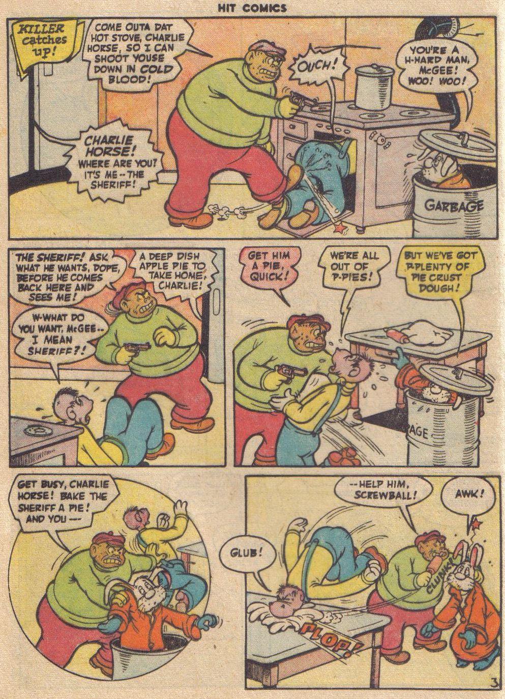 Read online Hit Comics comic -  Issue #45 - 49