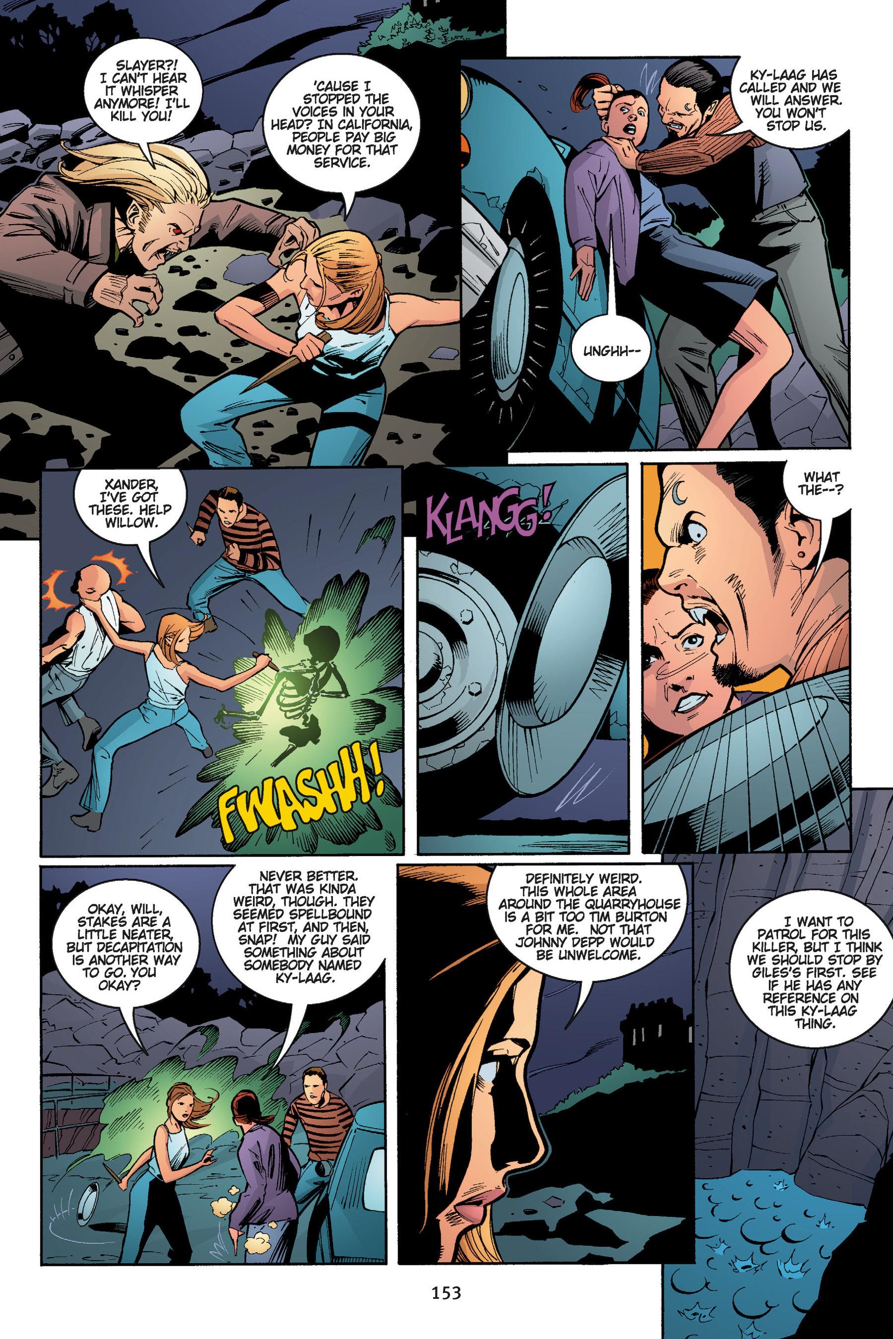 Read online Buffy the Vampire Slayer: Omnibus comic -  Issue # TPB 5 - 153