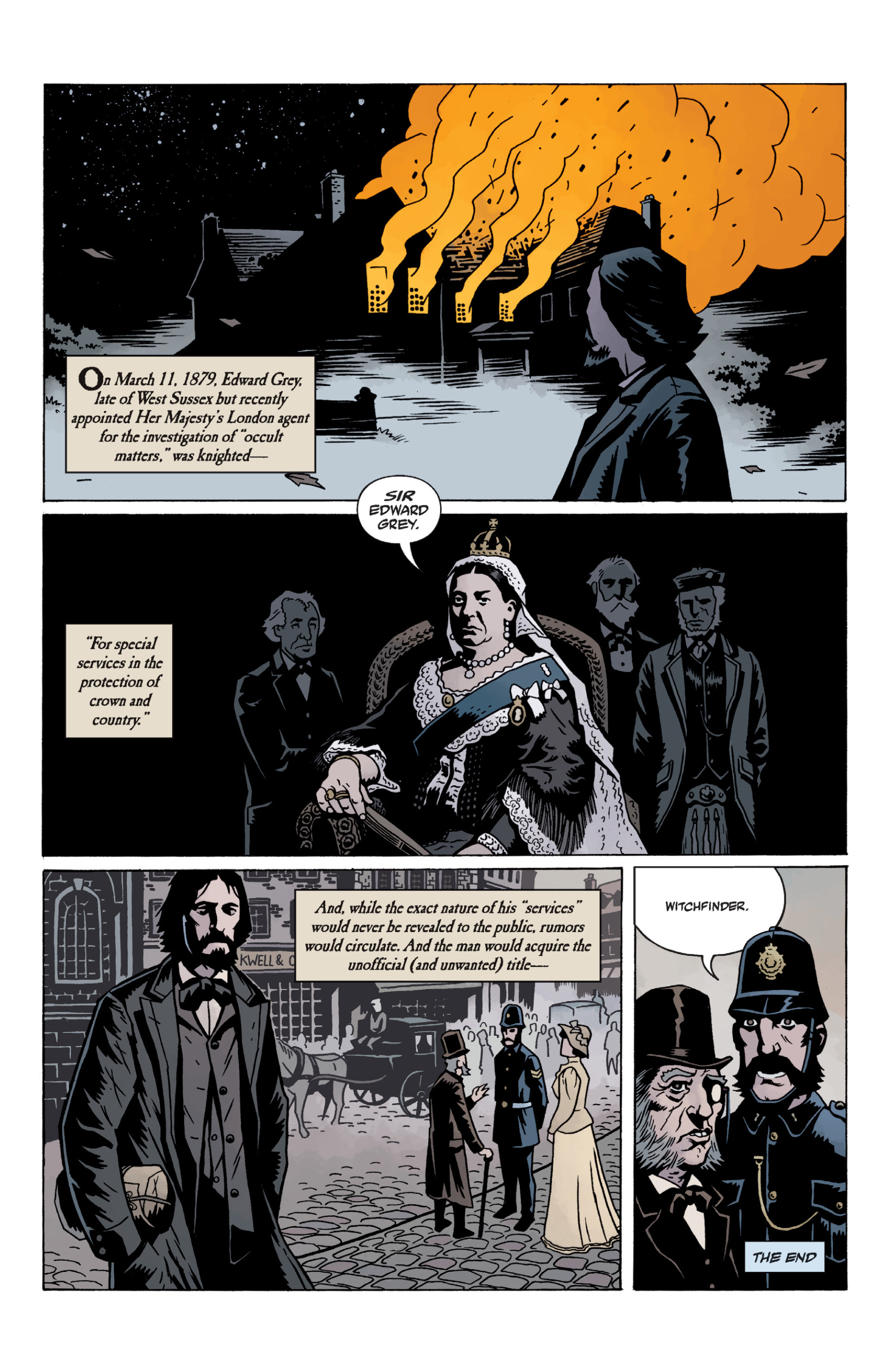 Read online Sir Edward Grey, Witchfinder: In the Service of Angels comic -  Issue # TPB - 135