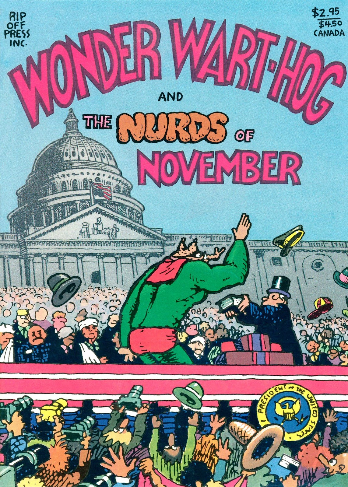 Wonder Wart-hog and the Nurds of November Full Page 1