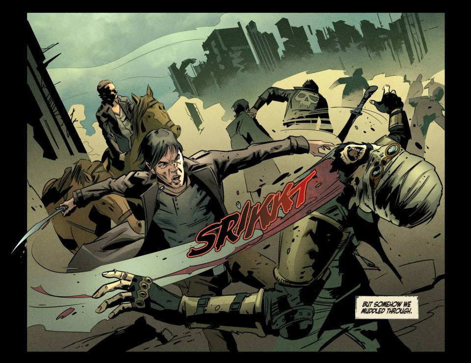 Read online Revolution (2015) comic -  Issue #2 - 11