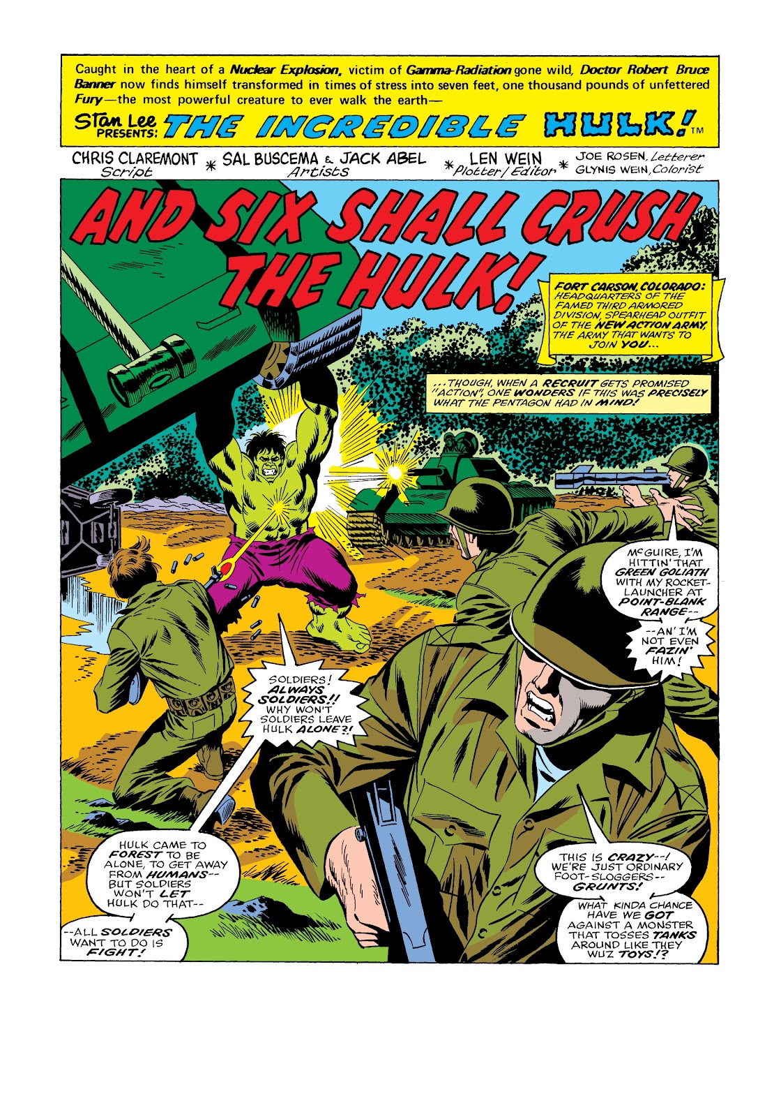 Read online Marvel Masterworks: The Incredible Hulk comic -  Issue # TPB 12 (Part 1) - 47