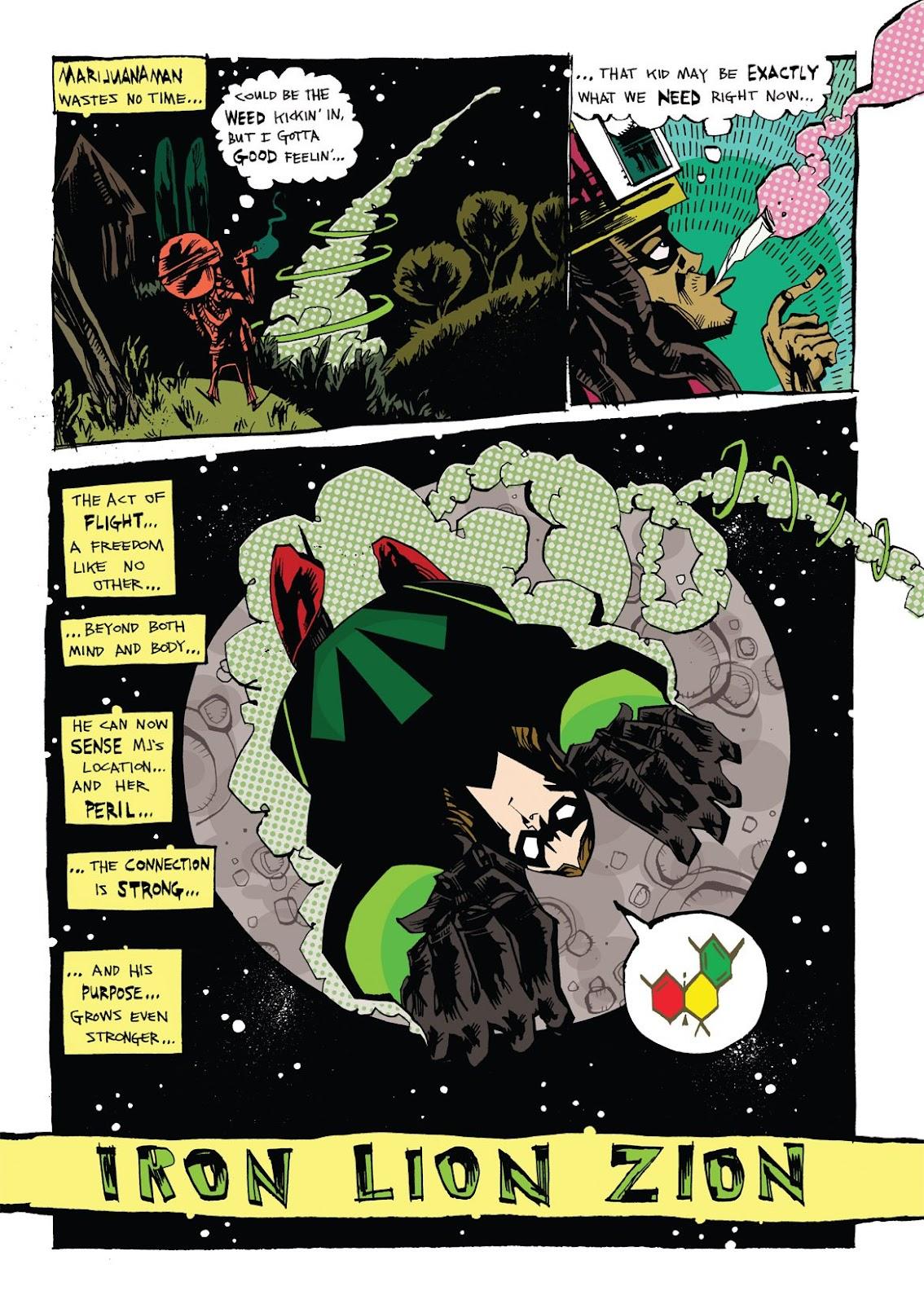 Read online Marijuanaman comic -  Issue # Full - 18