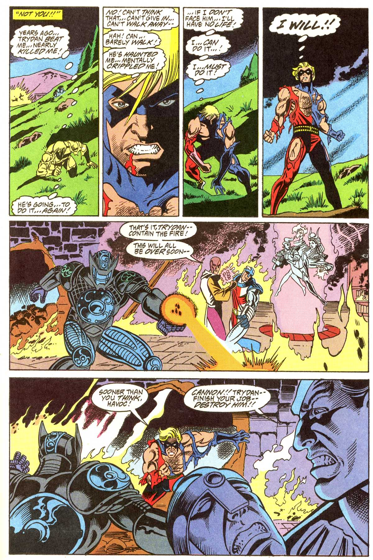 Read online Peter Cannon--Thunderbolt (1992) comic -  Issue #11 - 10