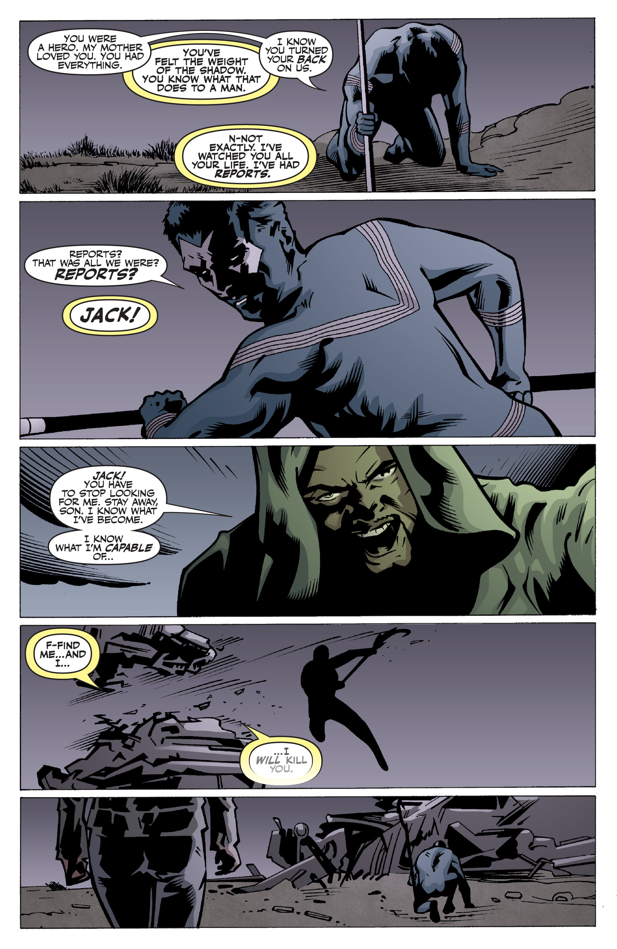 Read online Shadowman: End Times comic -  Issue #2 - 18