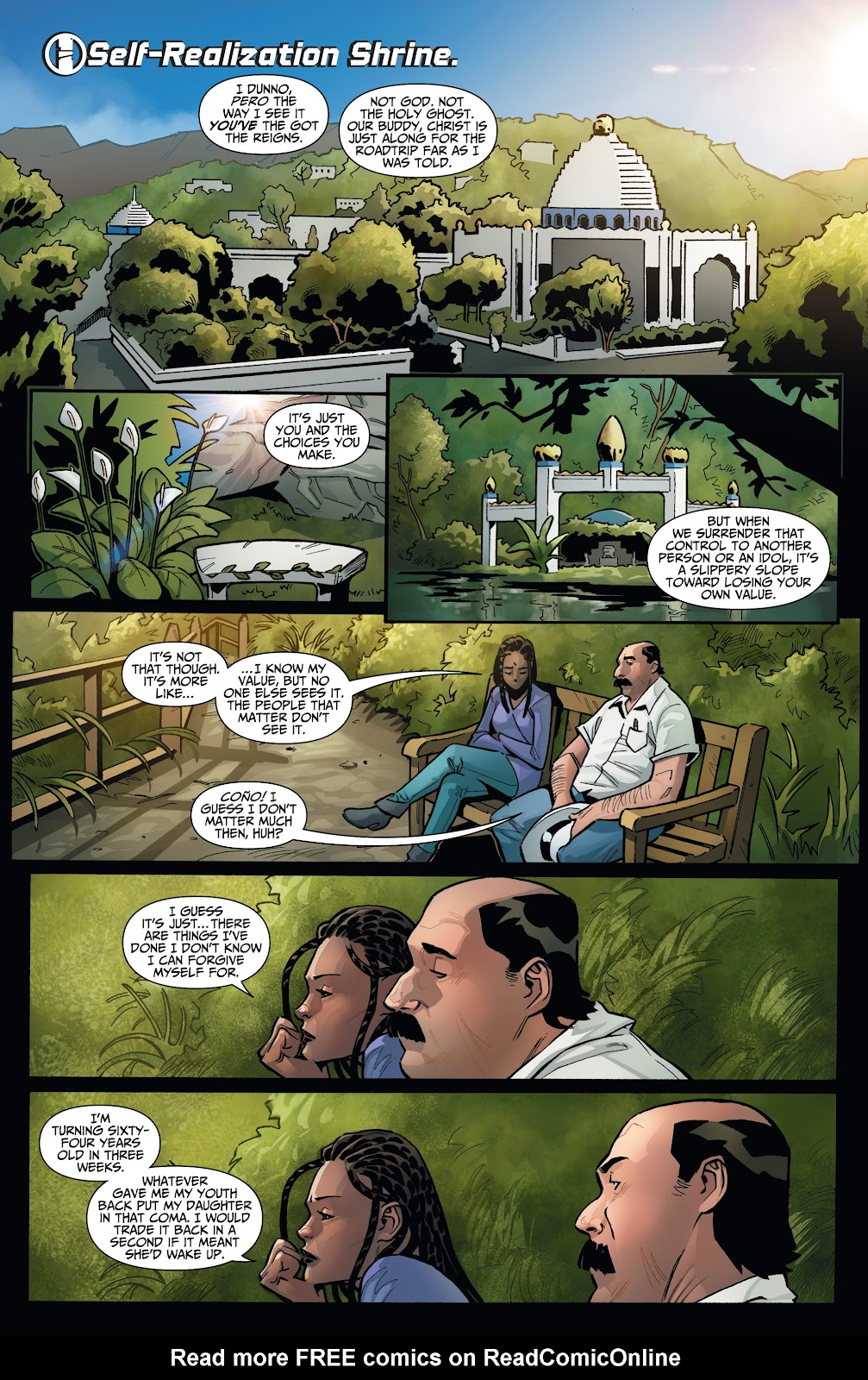 Read online Incidentals comic -  Issue #16 - 10