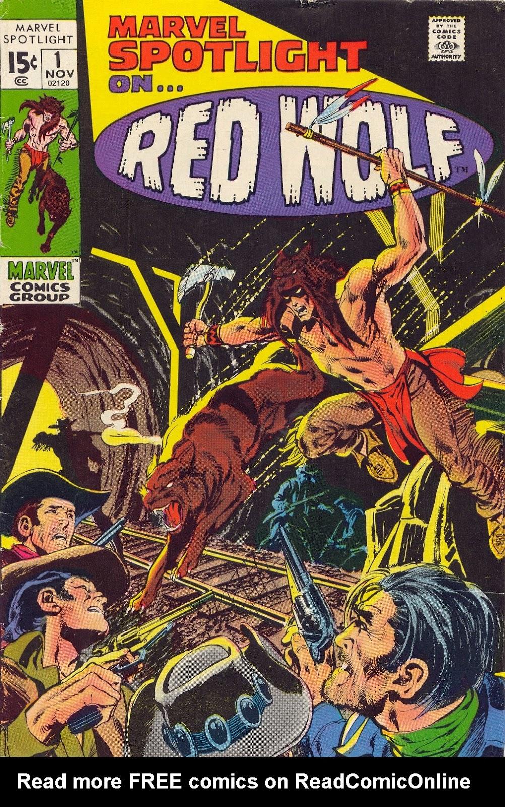 Marvel Spotlight (1971) issue 1 - Page 1