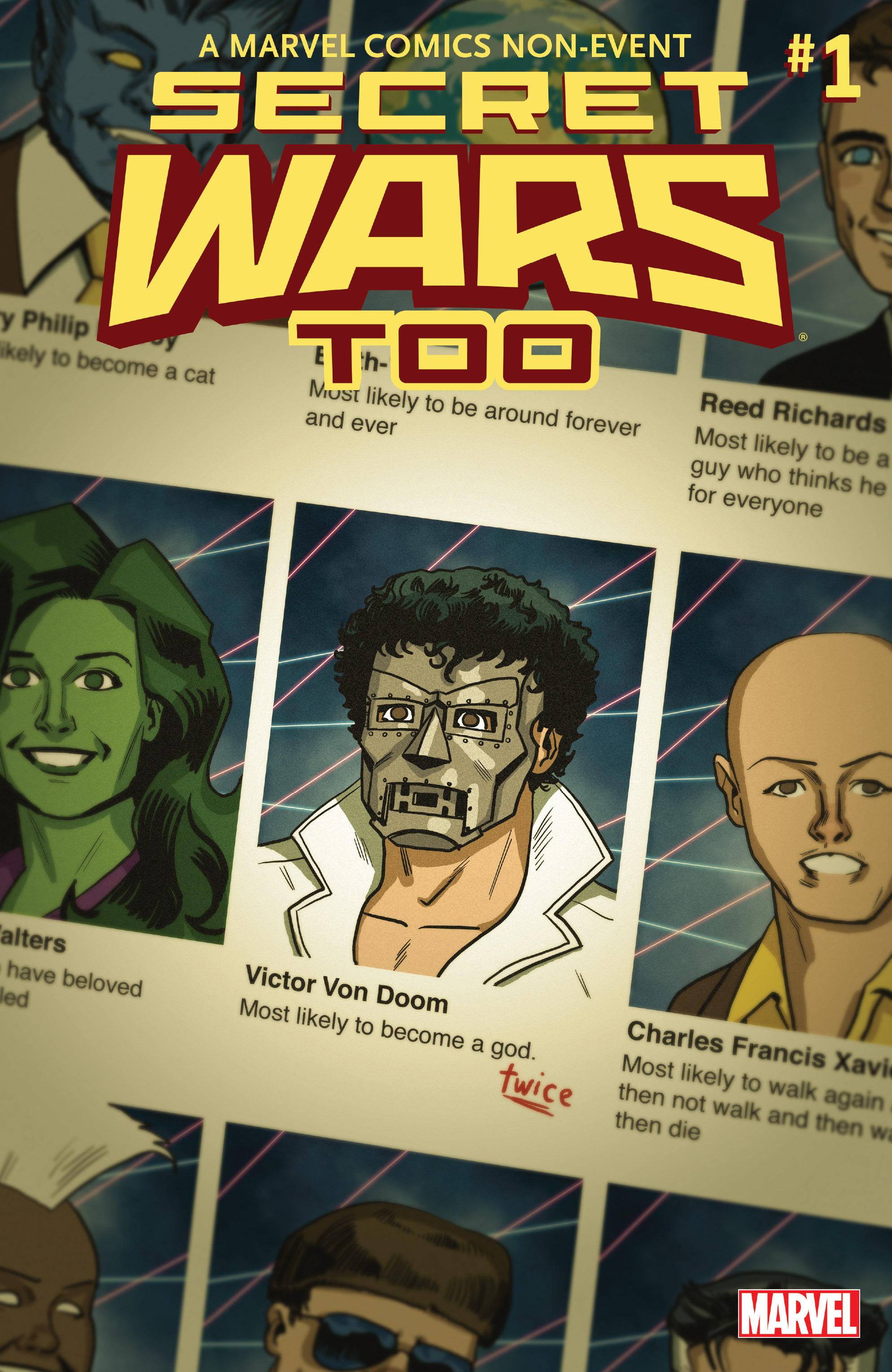 Read online Secret Wars Too comic -  Issue # Full - 1
