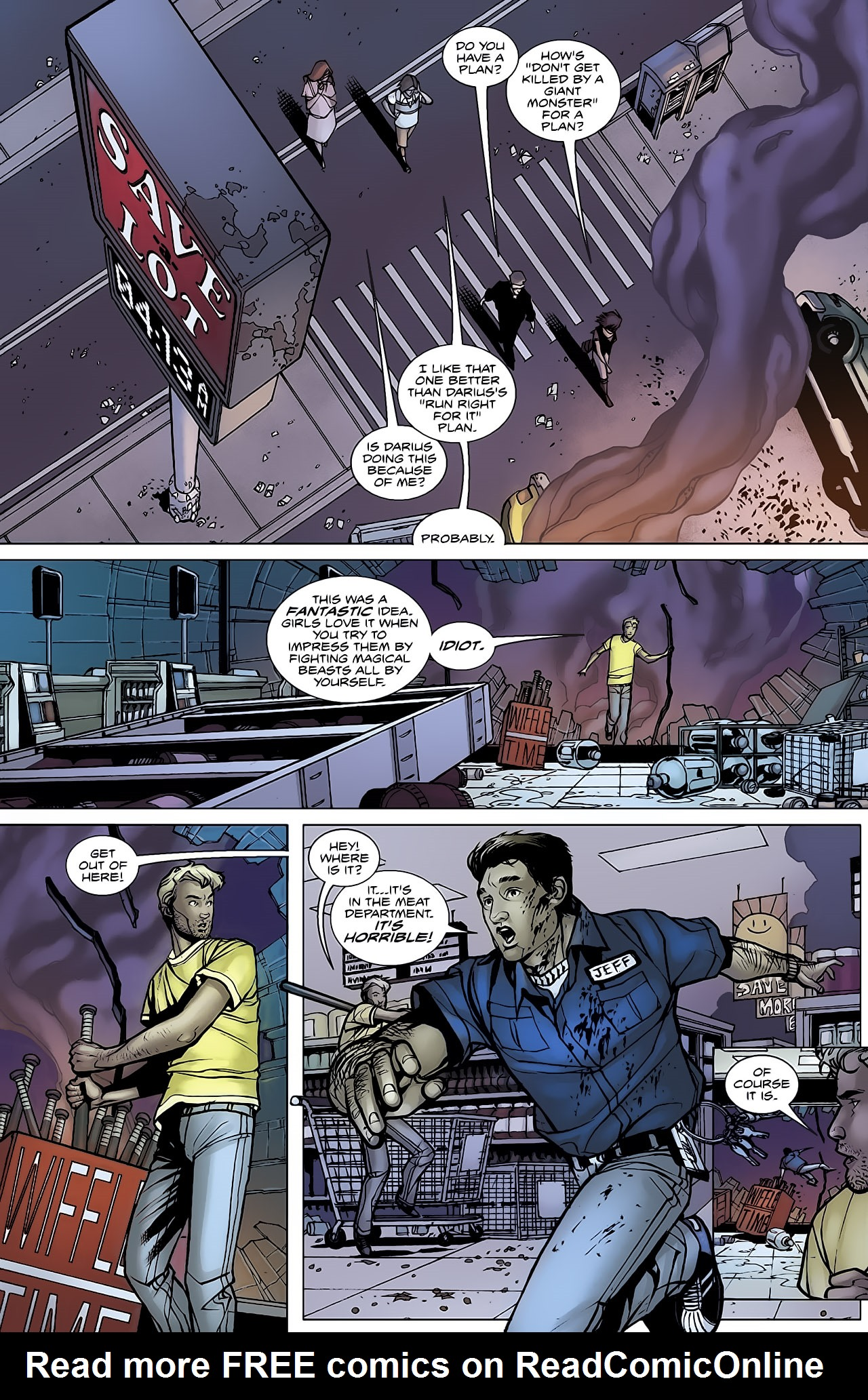 Read online Magus comic -  Issue #3 - 18