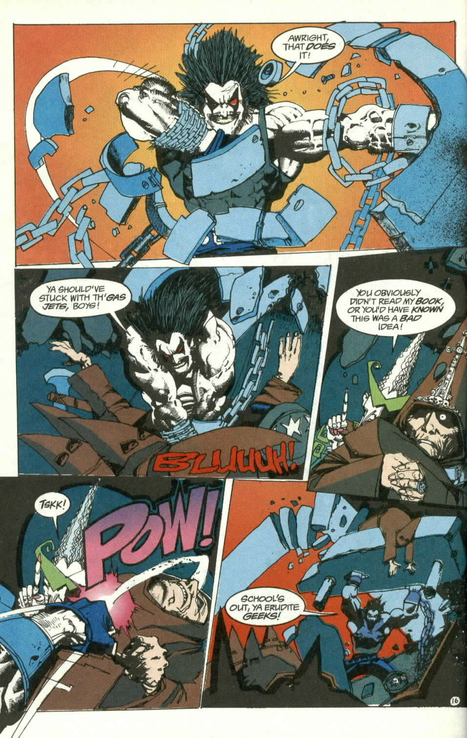Read online Lobo (1990) comic -  Issue #3 - 17