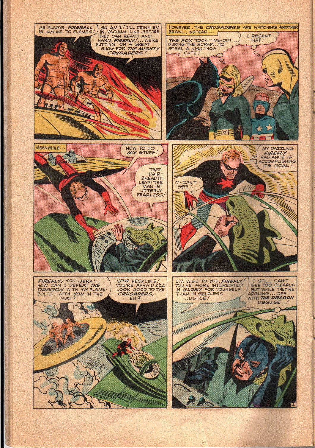 The Mighty Crusaders (1965) Issue #4 #4 - English 11